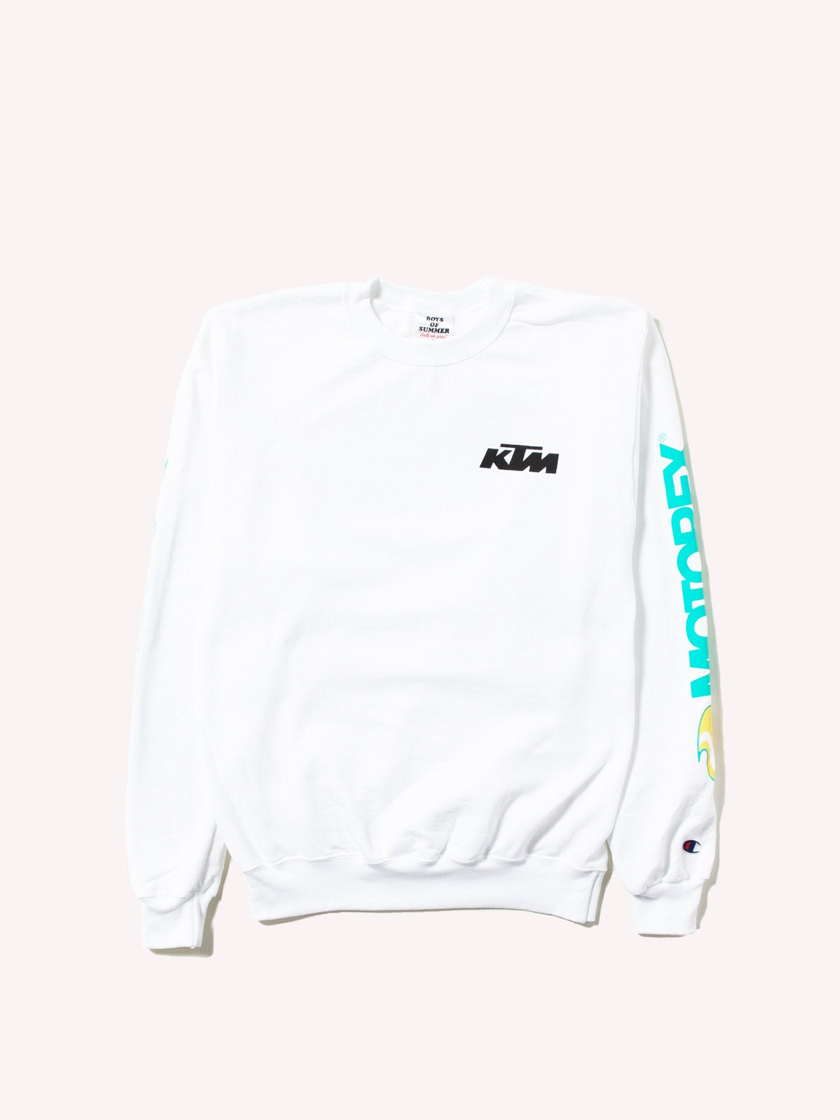 White Dunn Edwards Crewneck 1