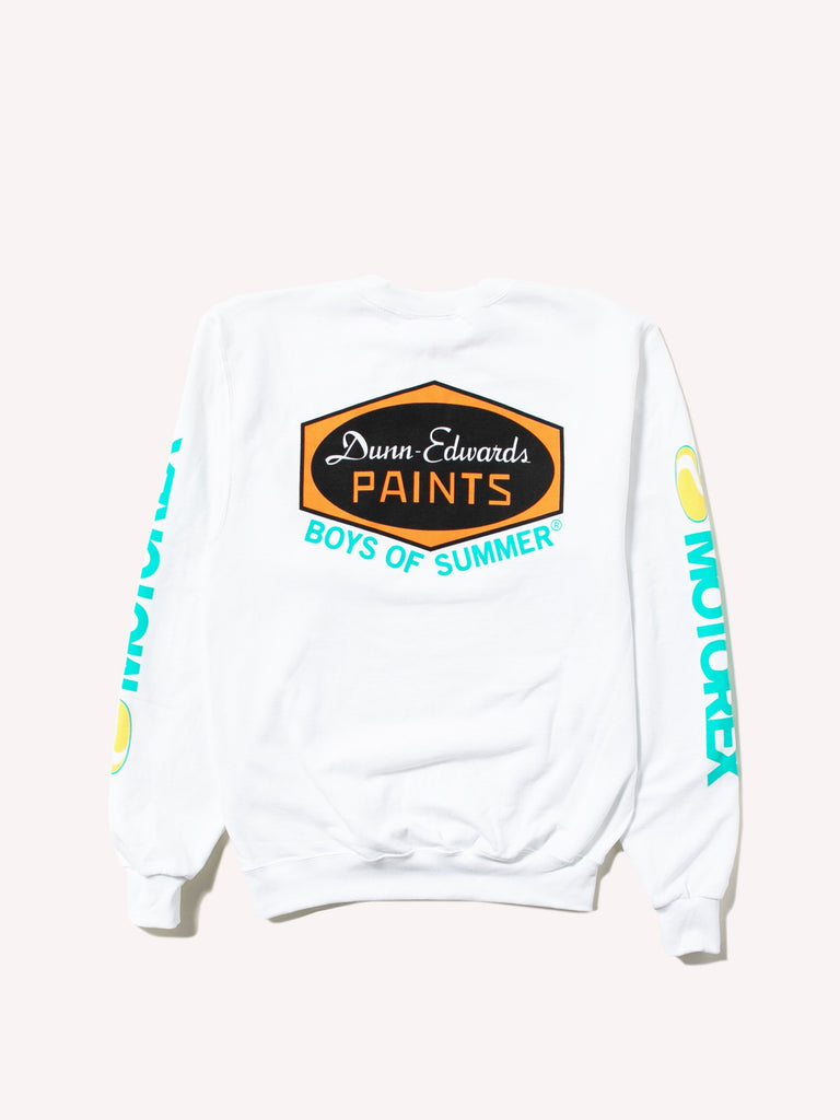 White Dunn Edwards Crewneck 211446933127245