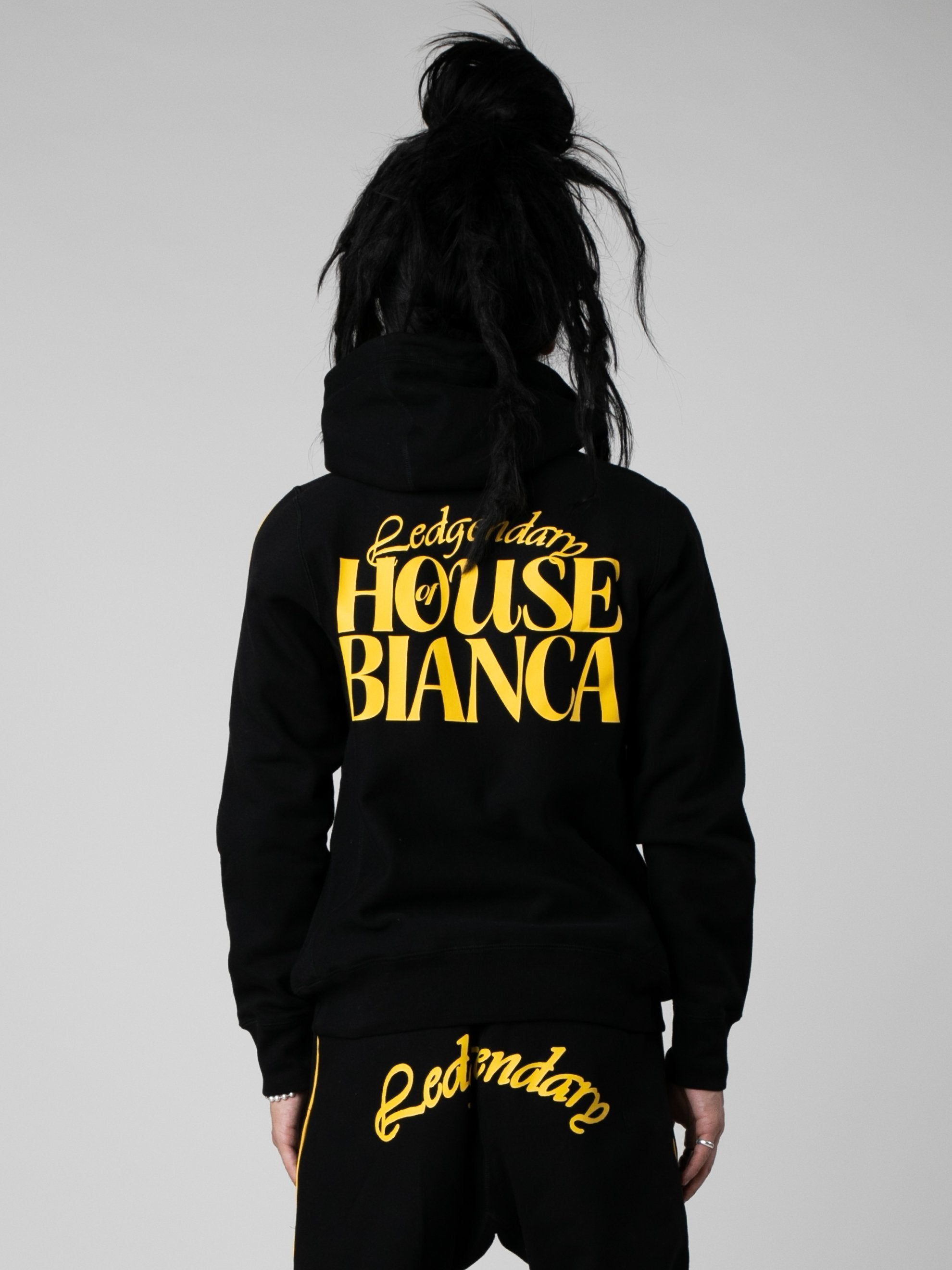 Black House Of Bianca Pull Over Hood 4