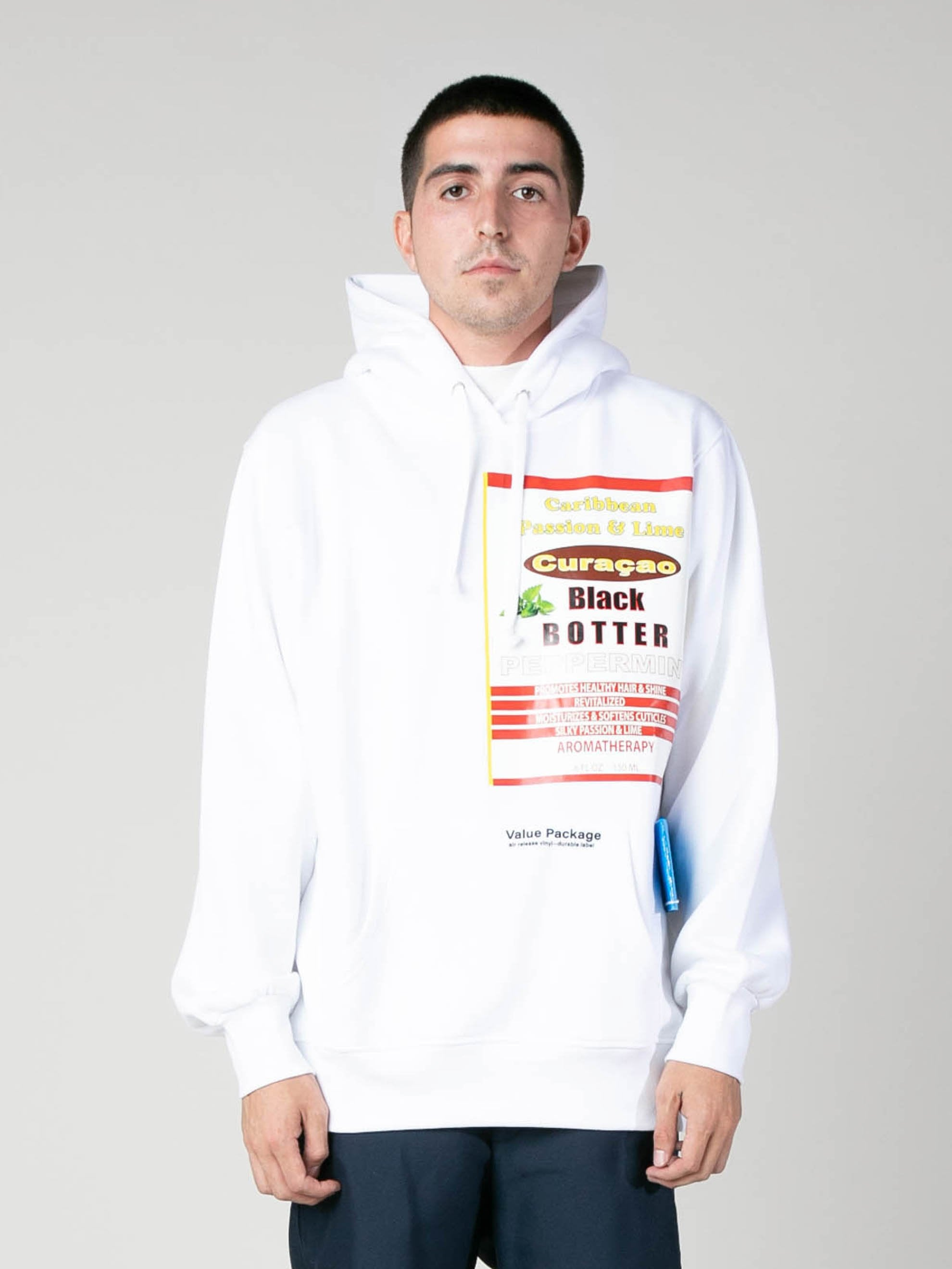 White Hoody With Botter Badge 2