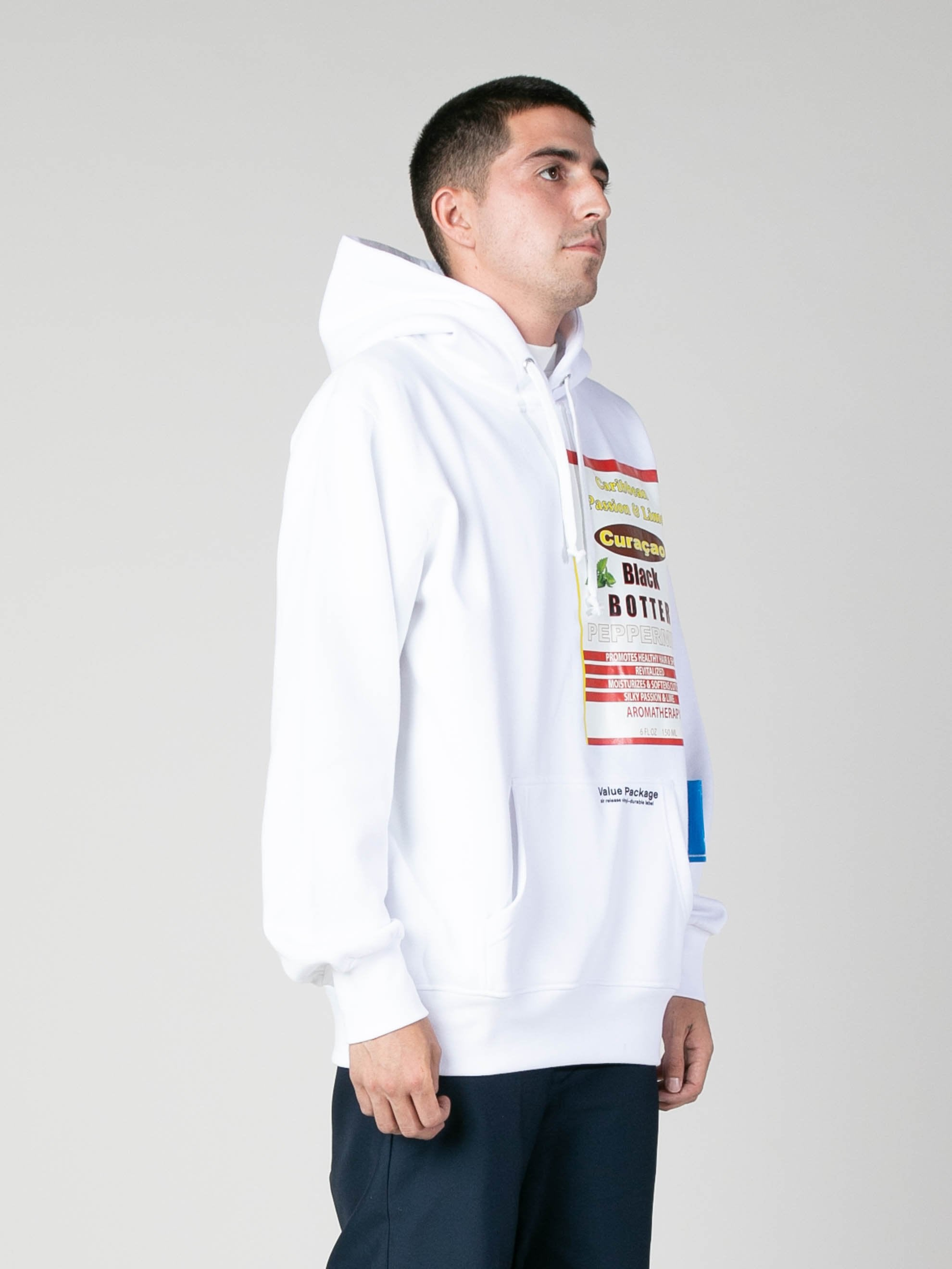 White Hoody With Botter Badge 4