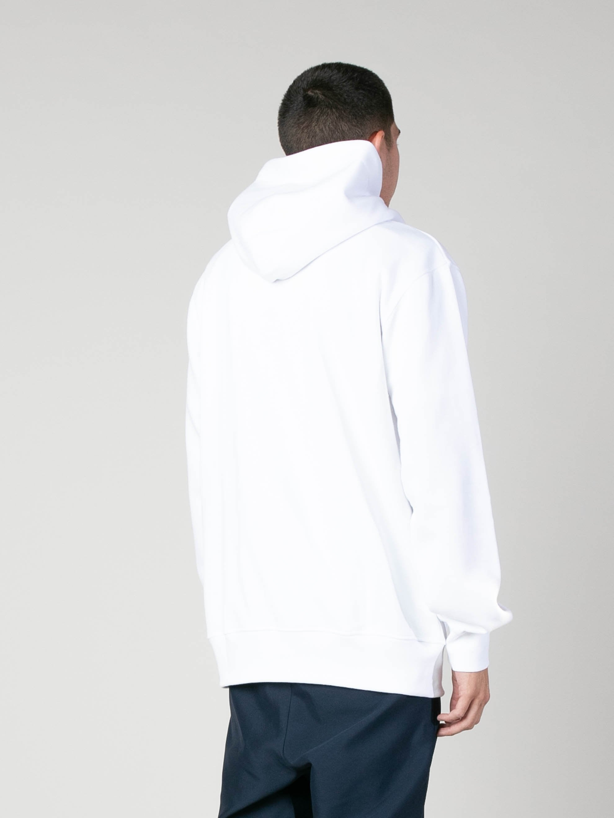 White Hoody With Botter Badge 5