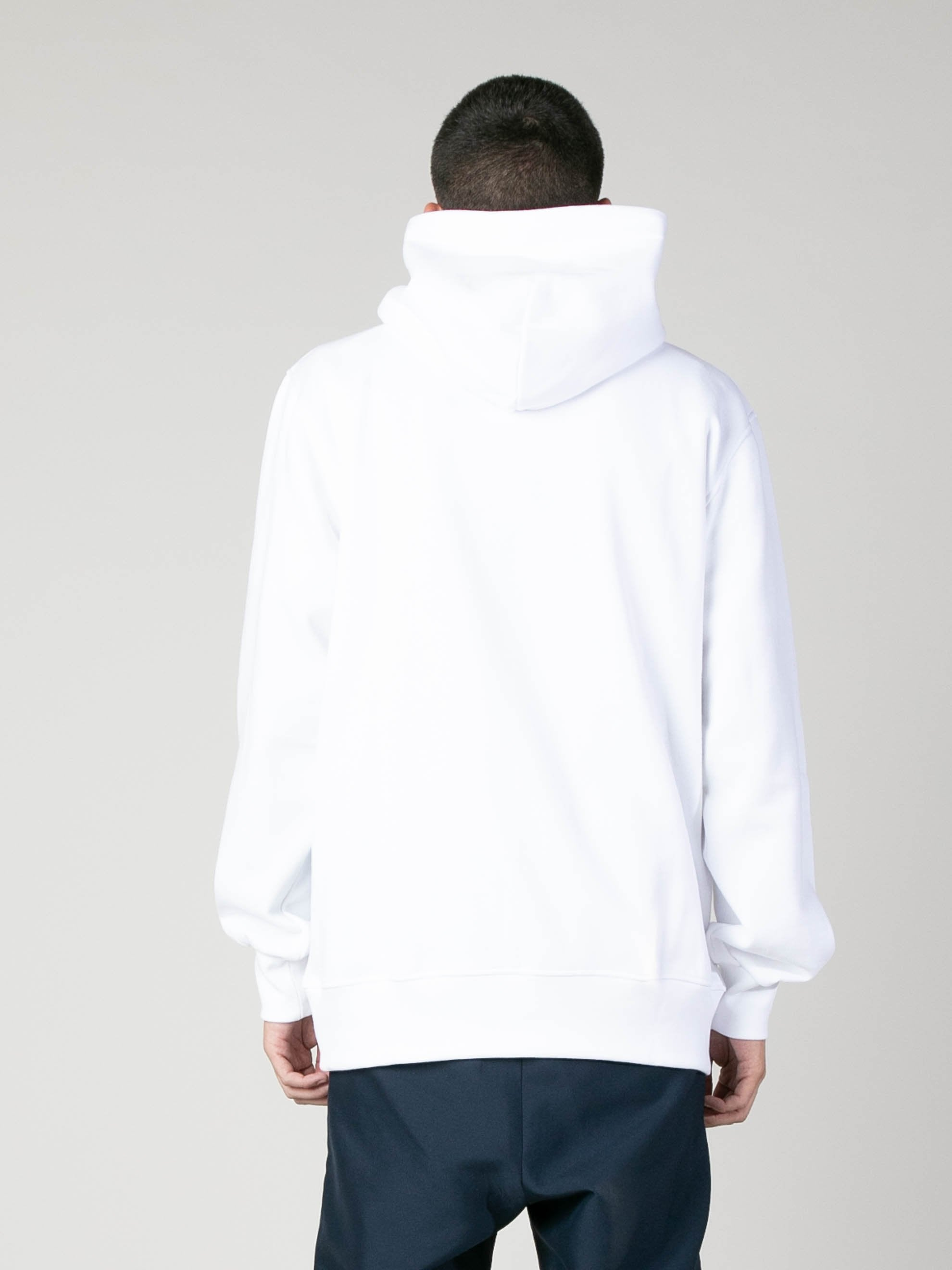 White Hoody With Botter Badge 6
