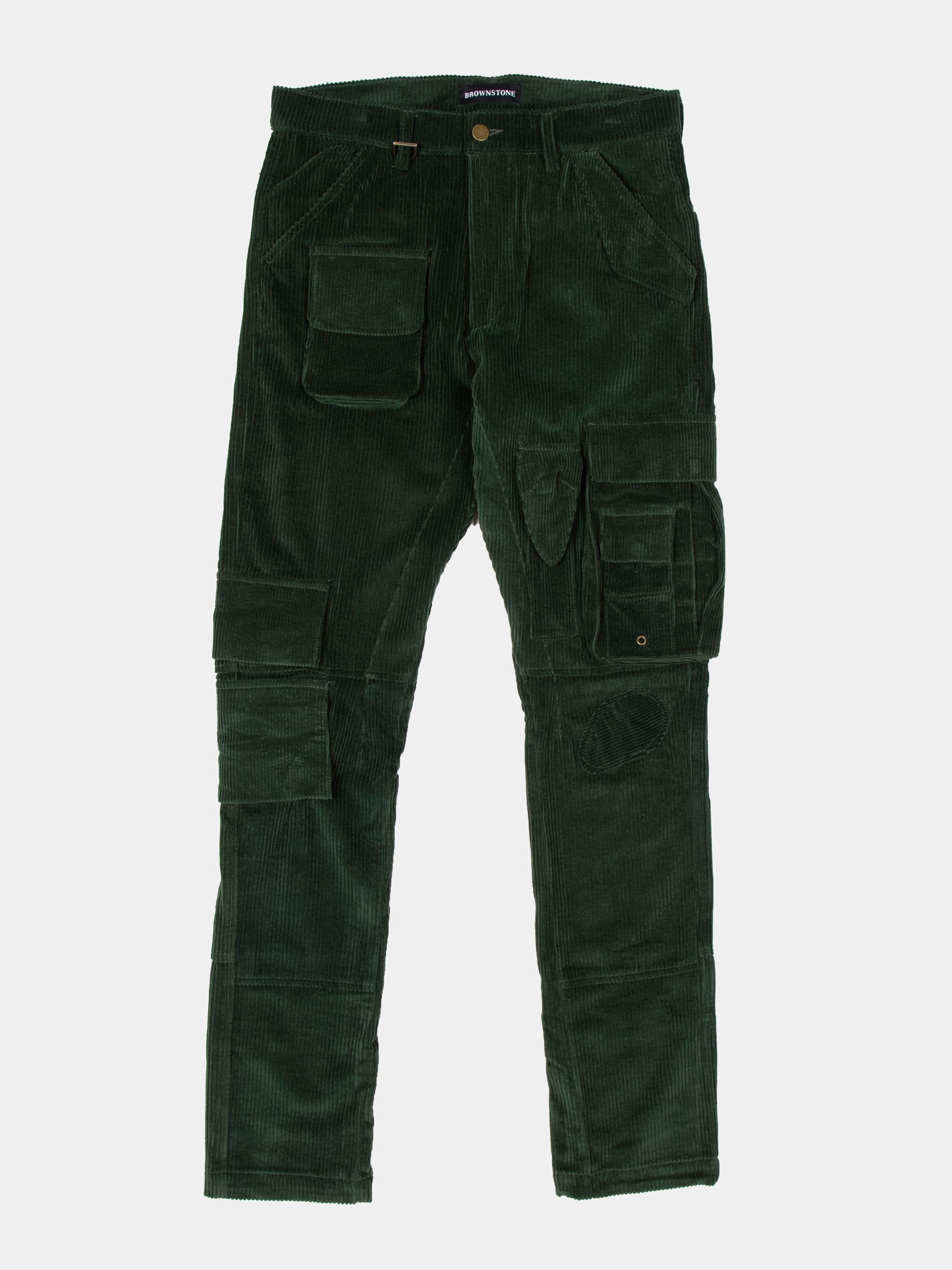 Olive 13 PKT Cargo Pant 1