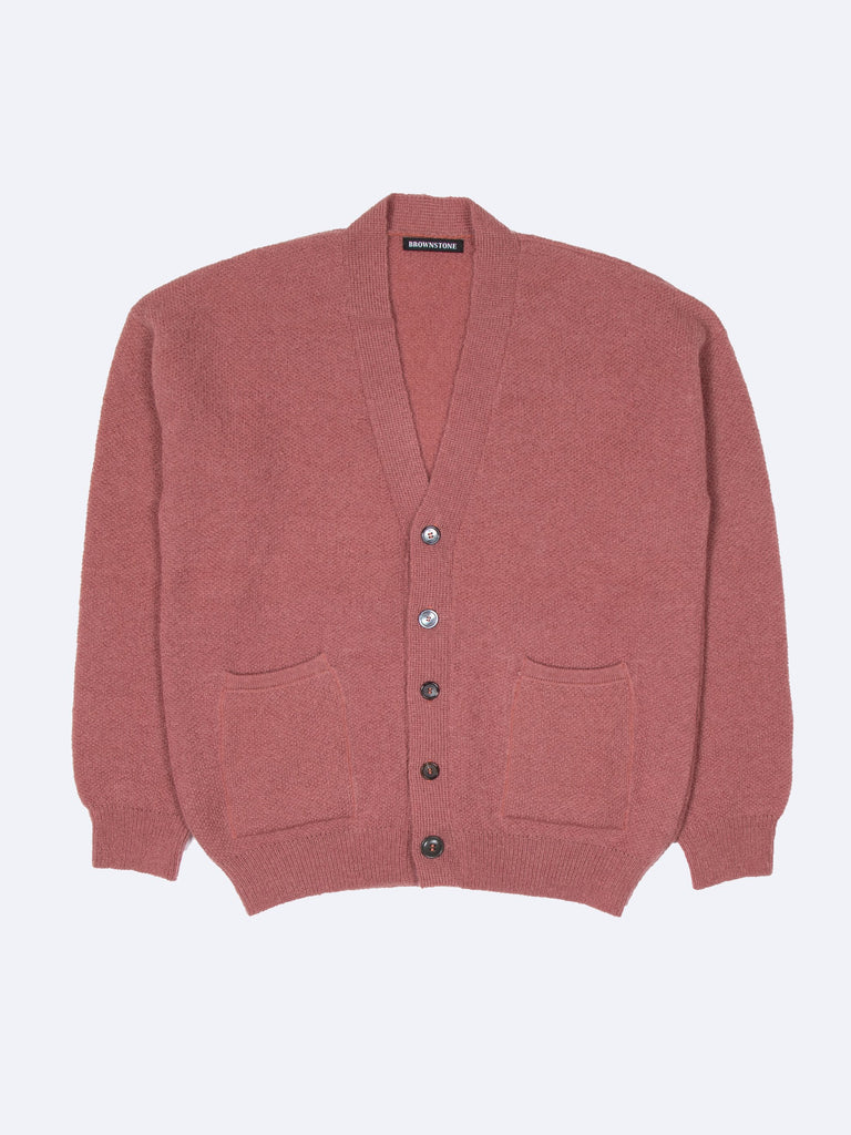 Patch Pocket Mohair Cardigan