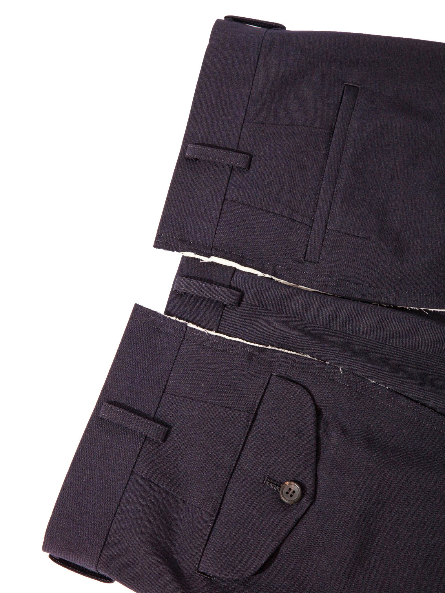Navy Unconstructed Trouser 6