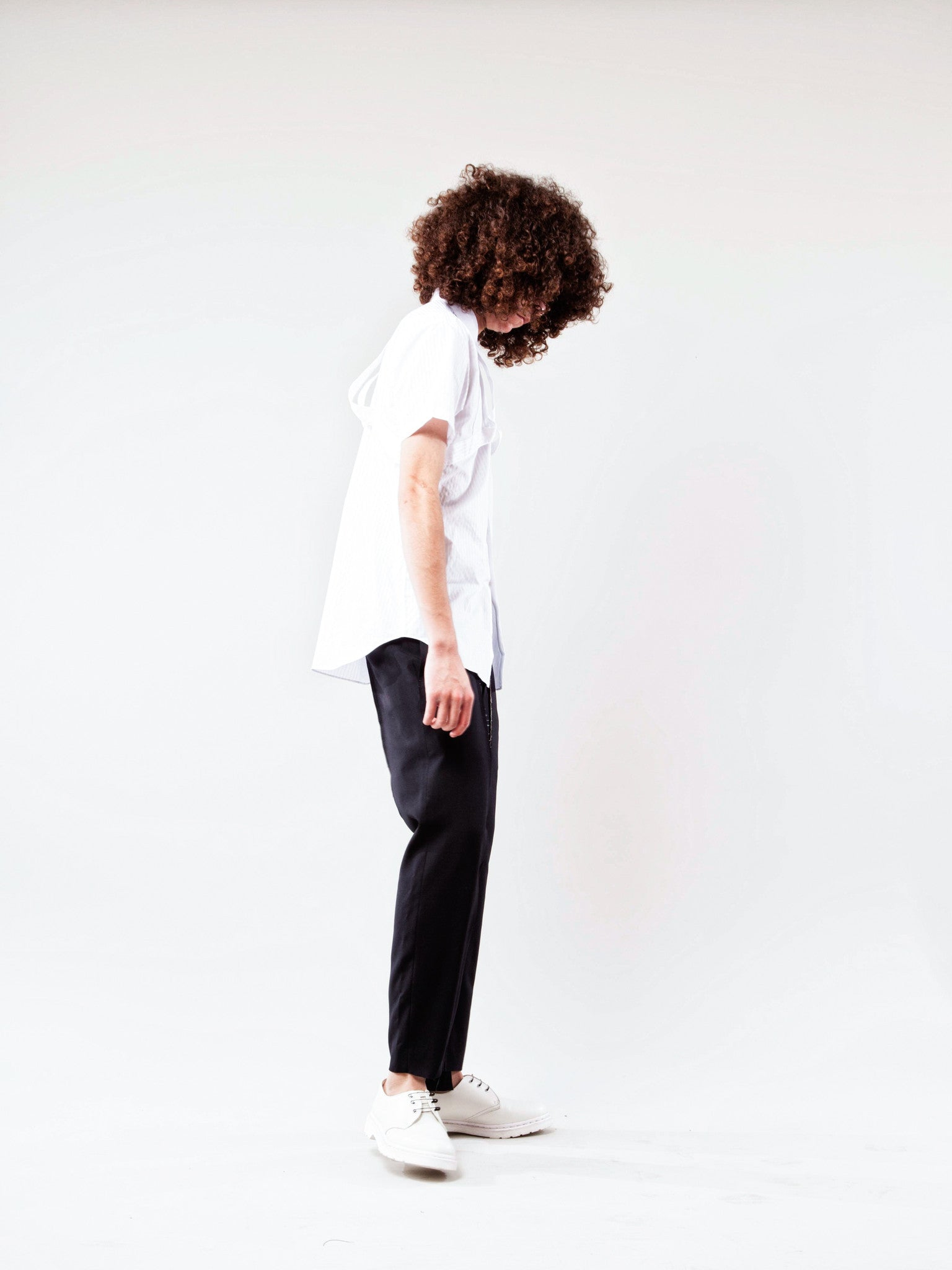 Black Unconstructed Trouser 3