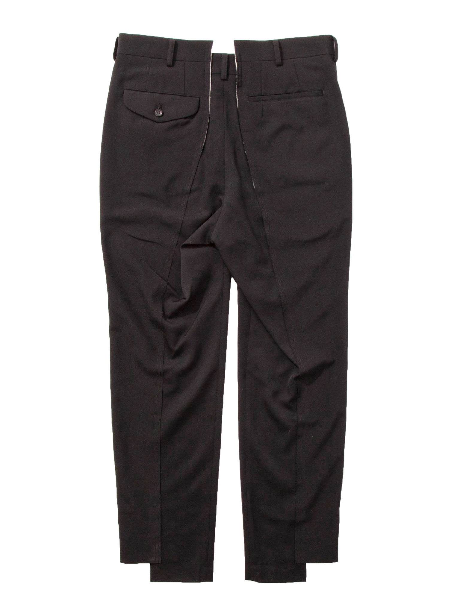 Navy Unconstructed Trouser 8