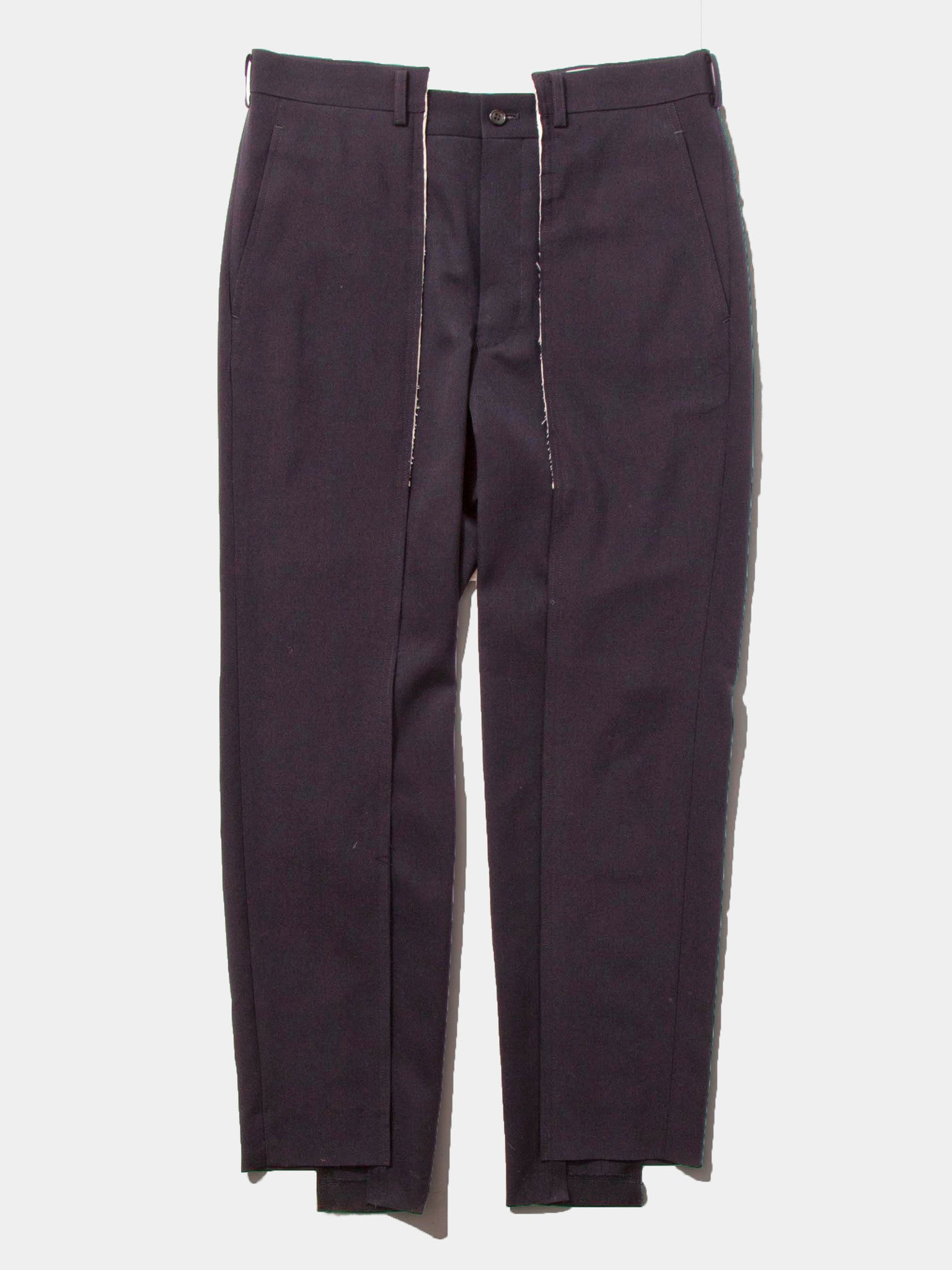 Black Unconstructed Trouser 1