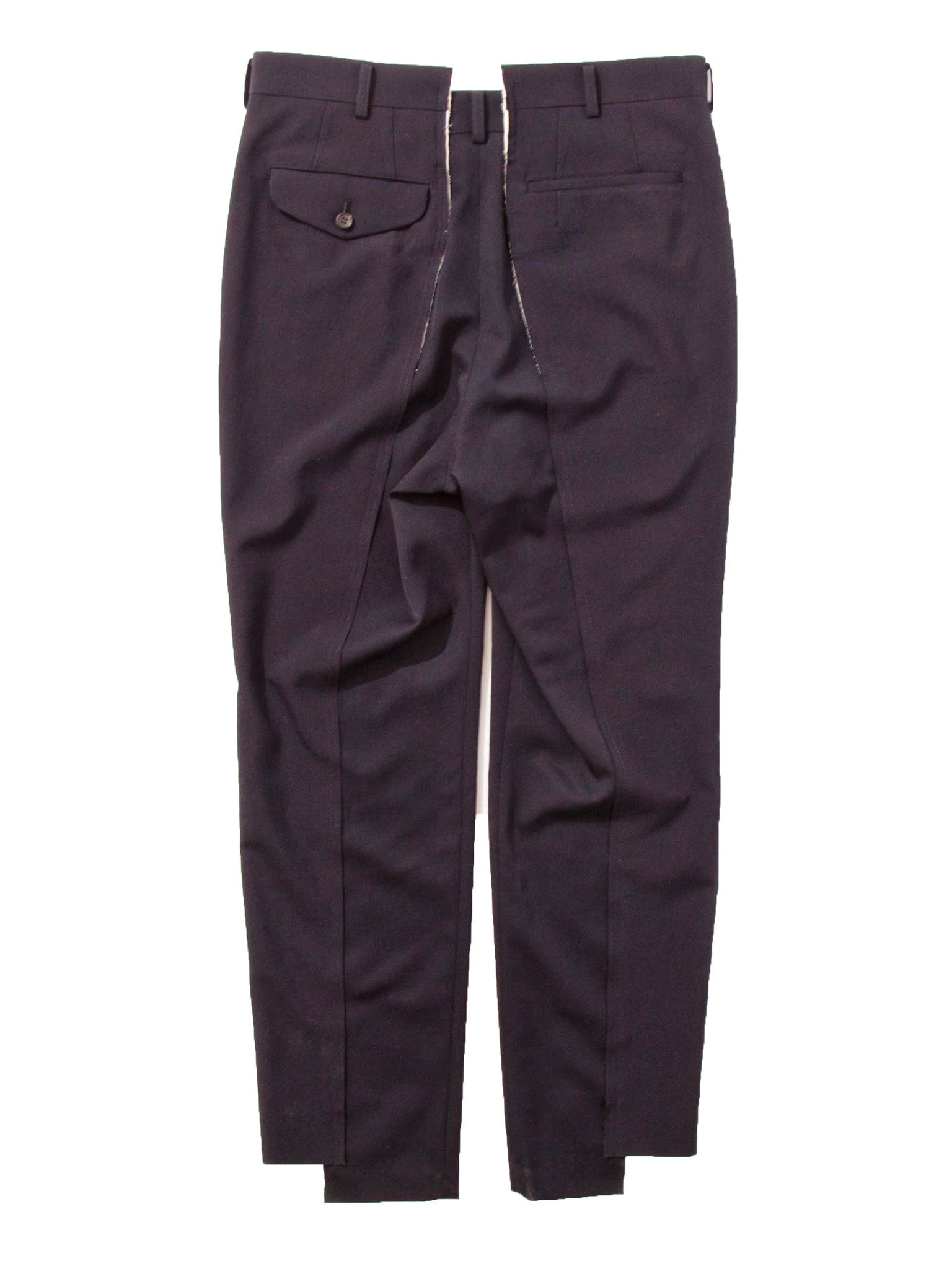 Navy Unconstructed Trouser 5