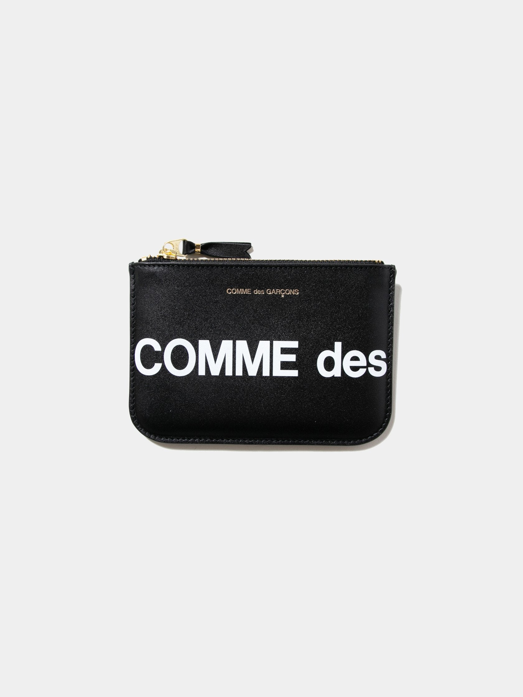 Black CDG Huge Logo Wallet (SA8100HL) 1