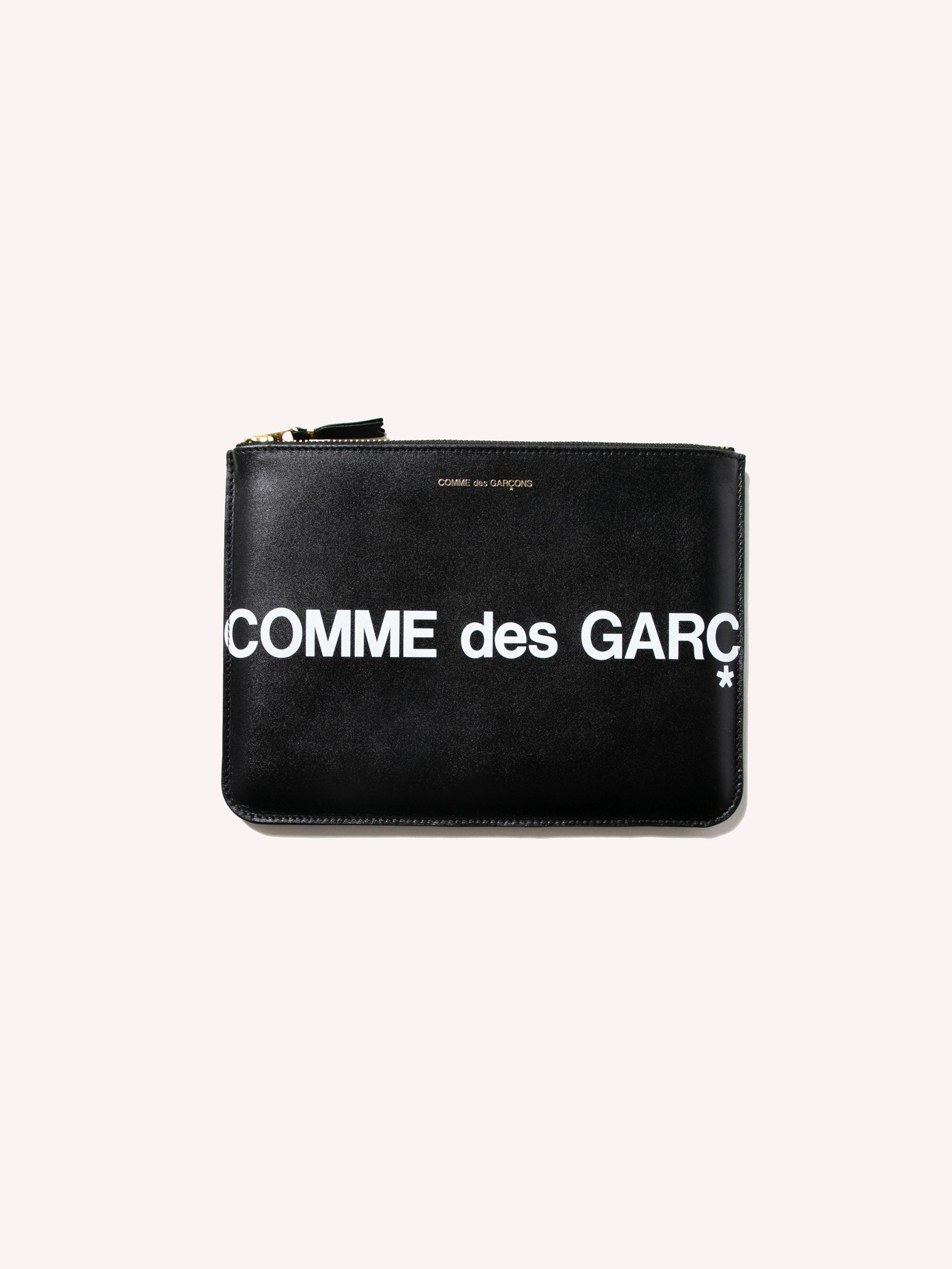 Black CDG Huge Logo Wallet (SA5100HL) 1