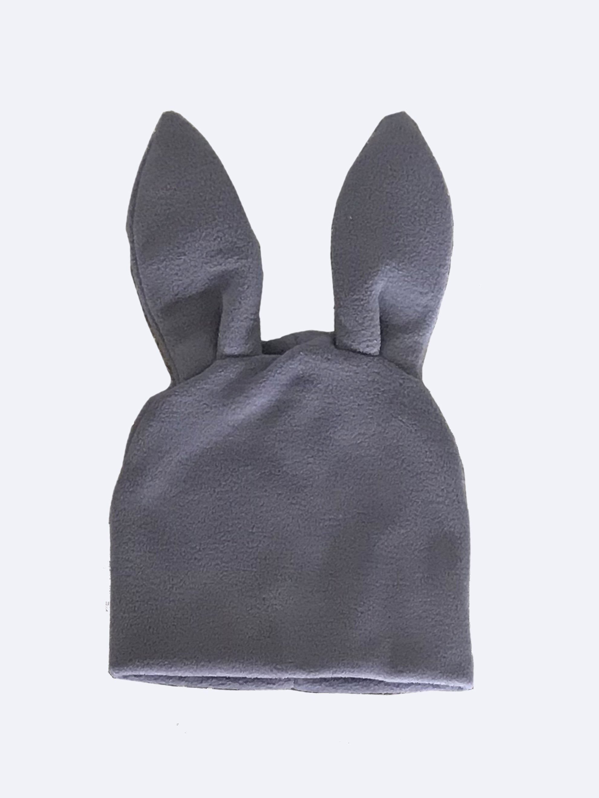 Red Bunny Ears Woven Beanie 5
