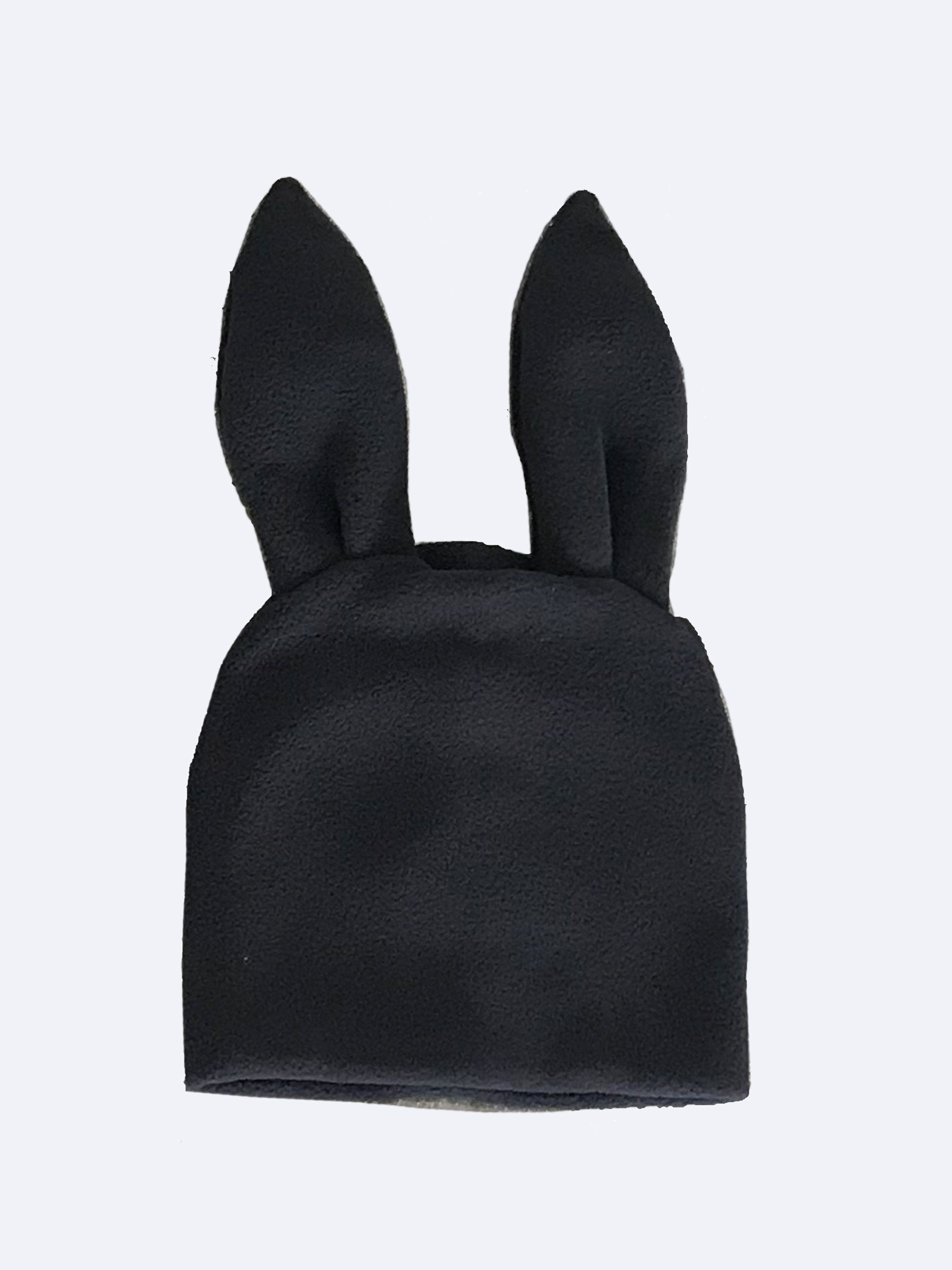 Red Bunny Ears Woven Beanie 7