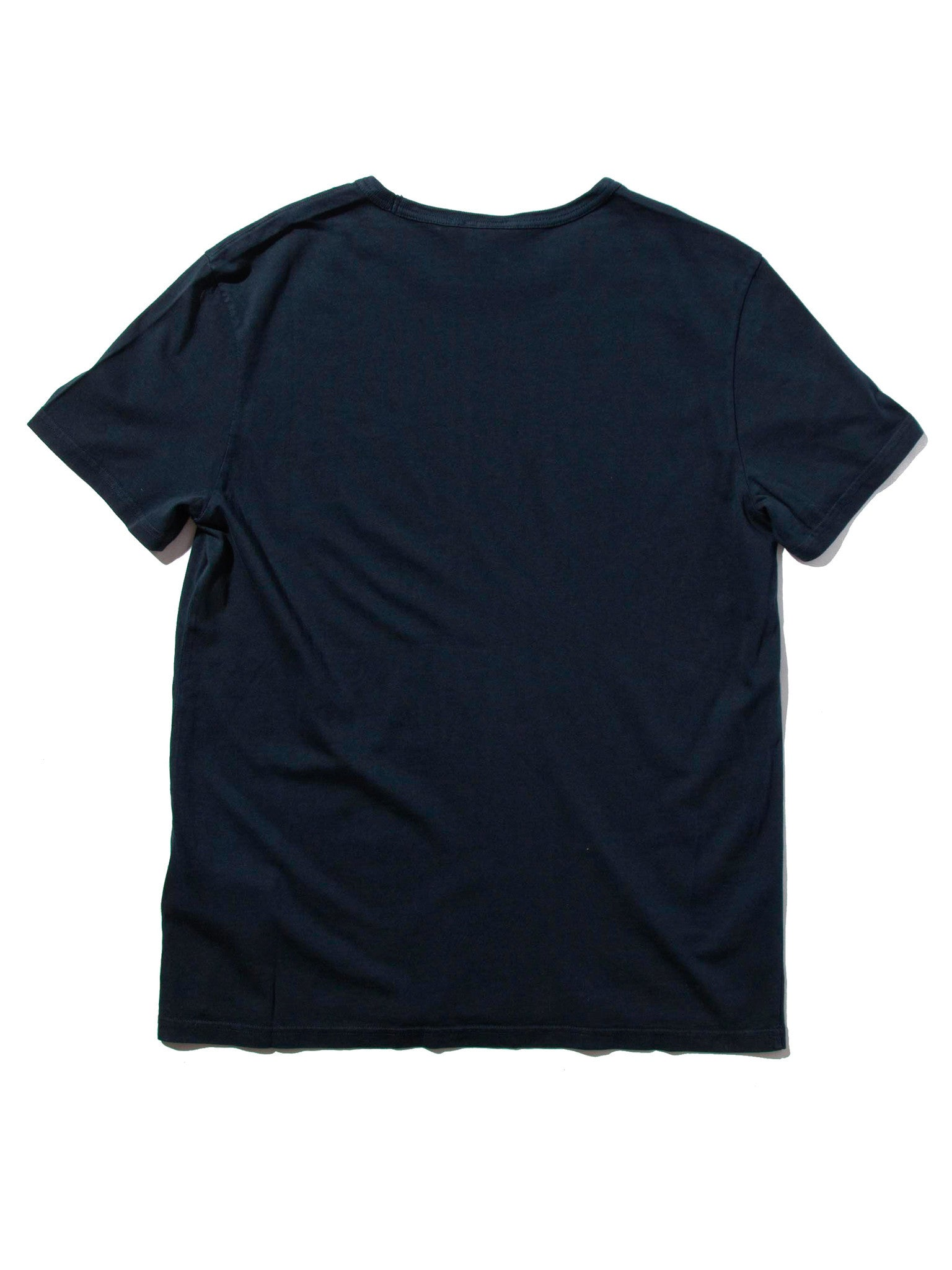 Navy Garment Dyed Classic SS Crew T-Shirt 10