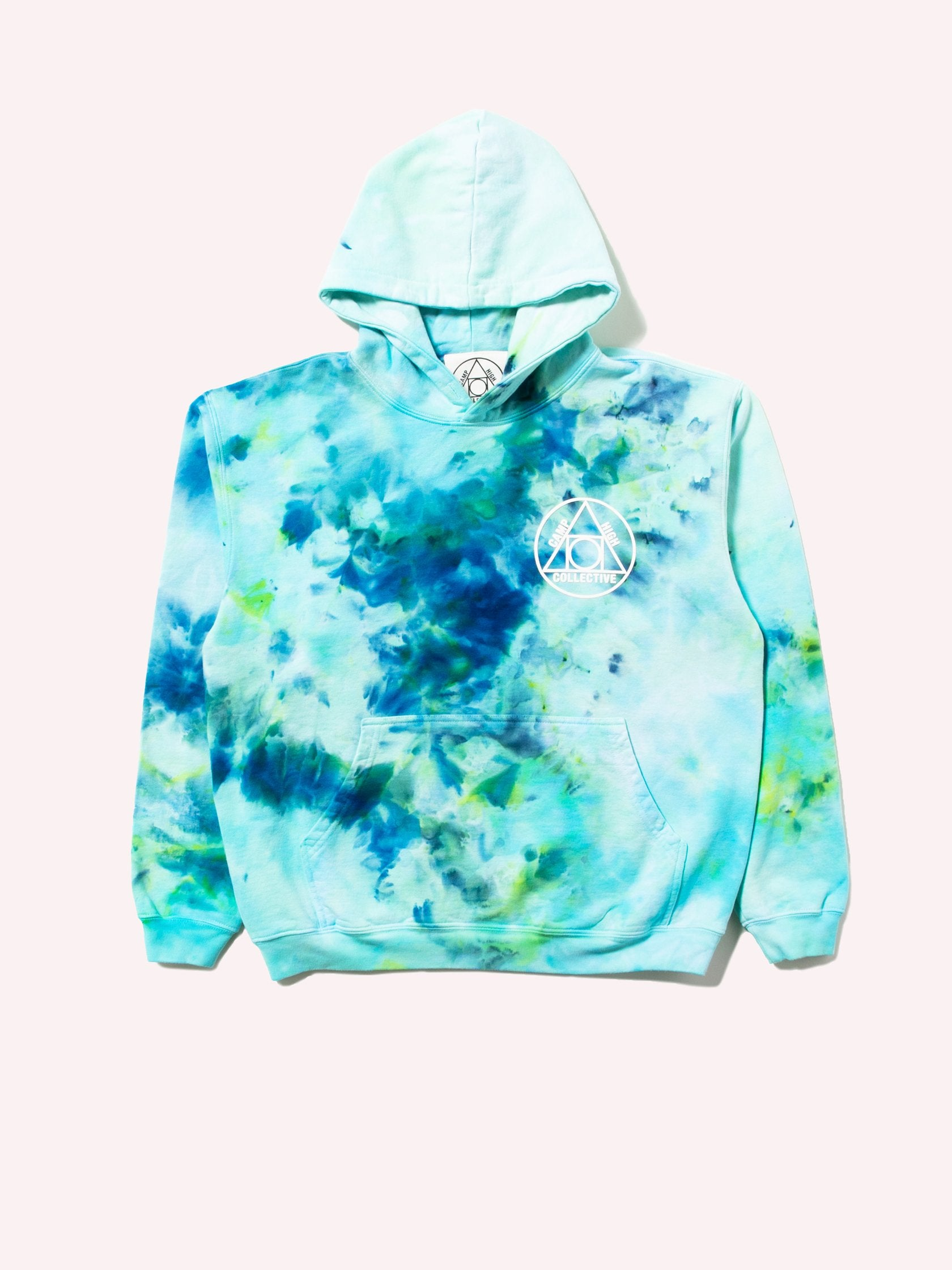 Tie Dye Camp High Collective Hoodie 1