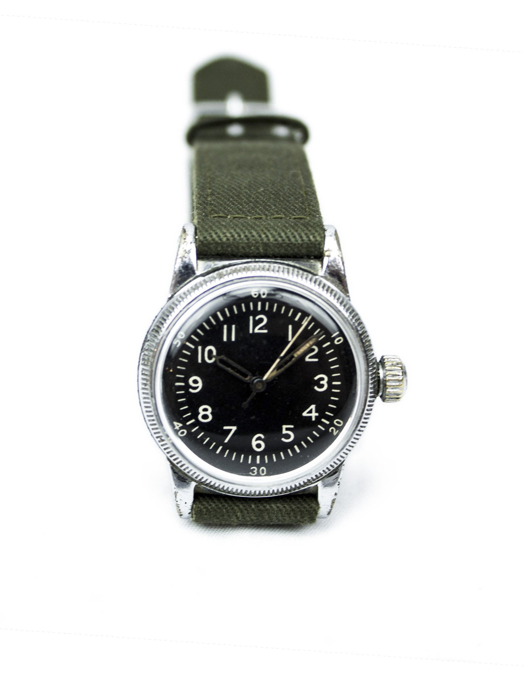 Vintage WWII Type A-11 Waltham Air Force Watch