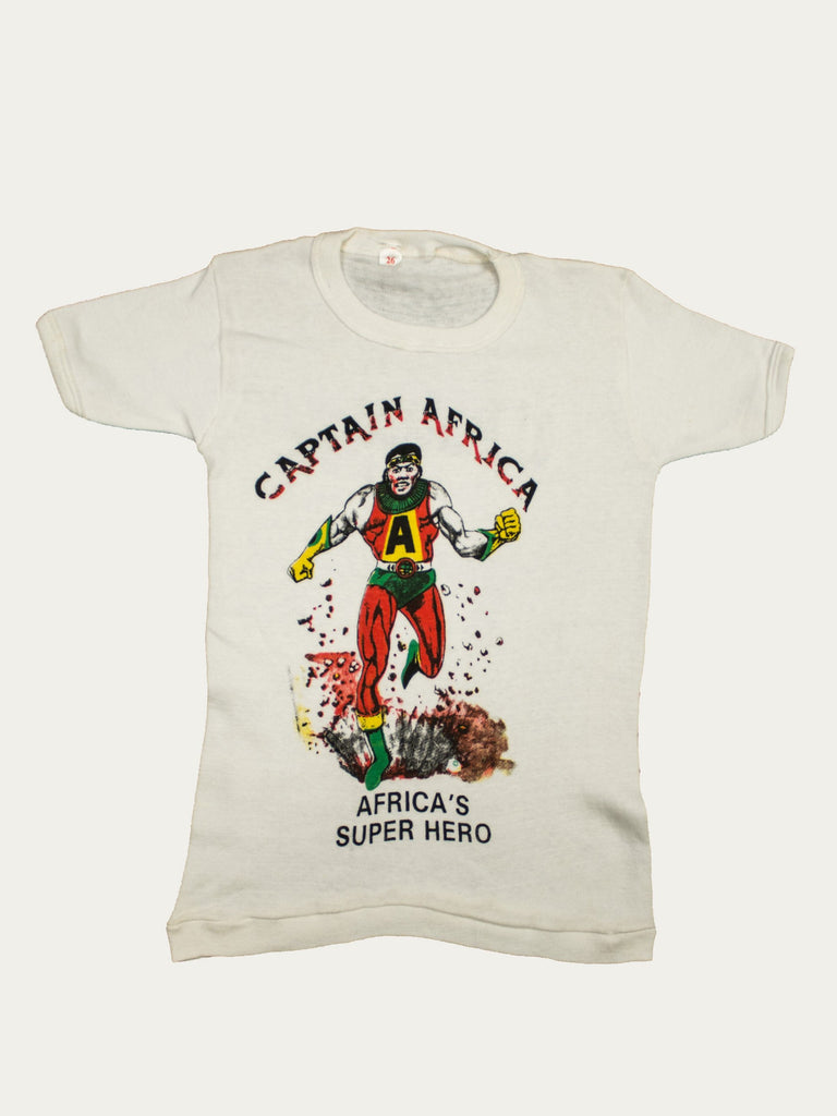 "1980's Toddler's ""Captain Africa"" T-Shirt"