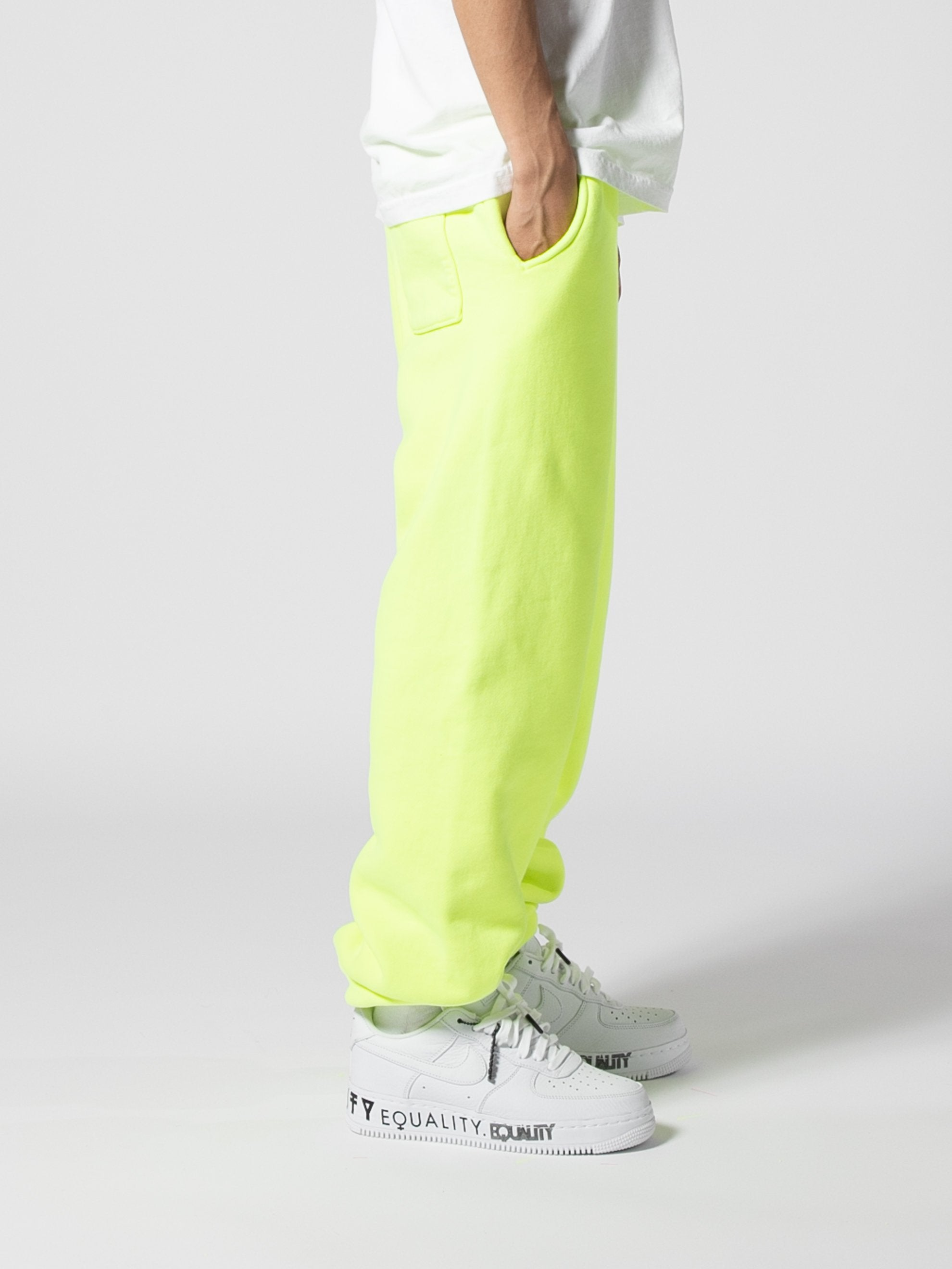 Neon Embroidered Sweat Pant 5