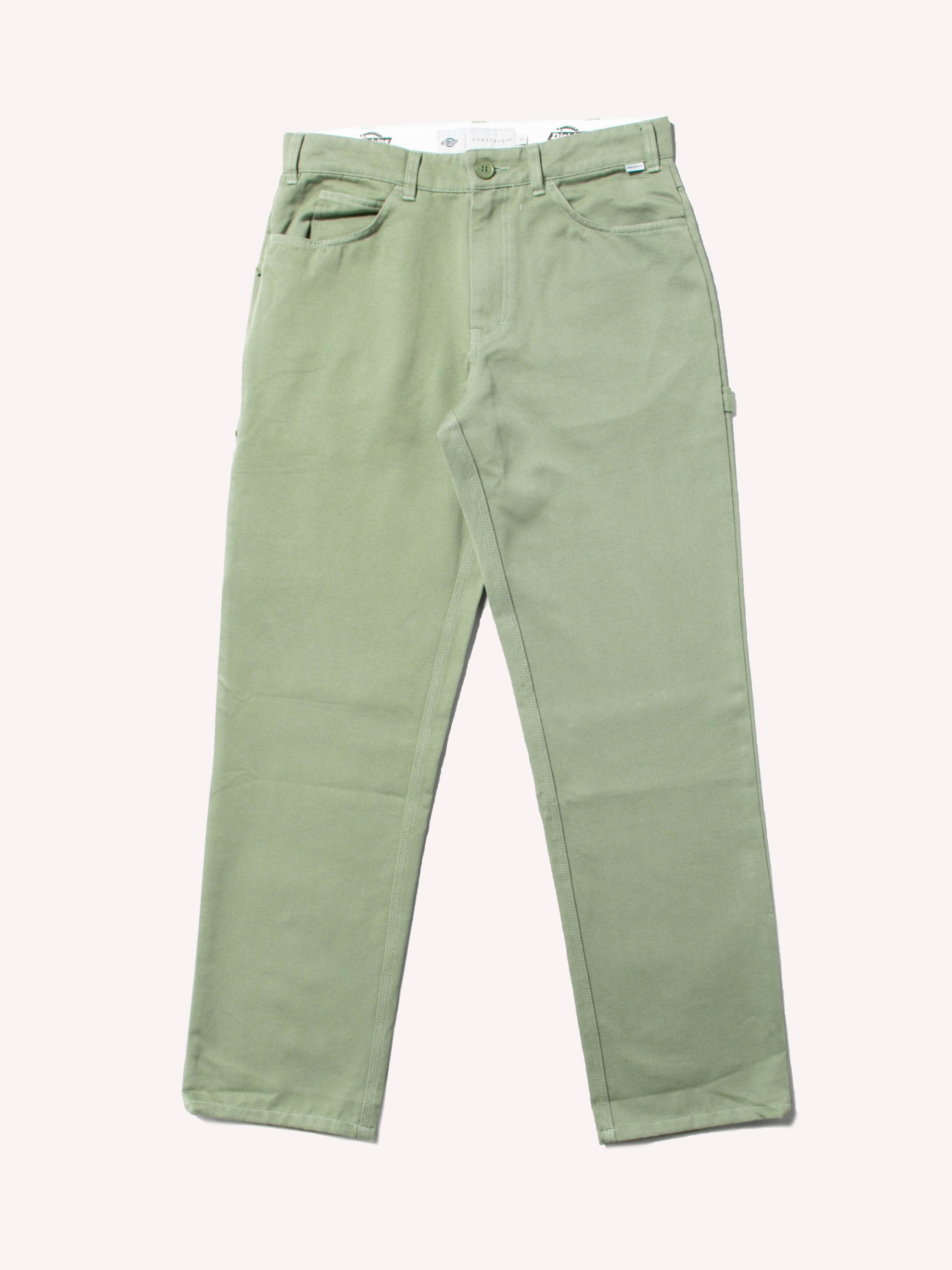 Worker Green / Pop Green Carpenter Pants 1