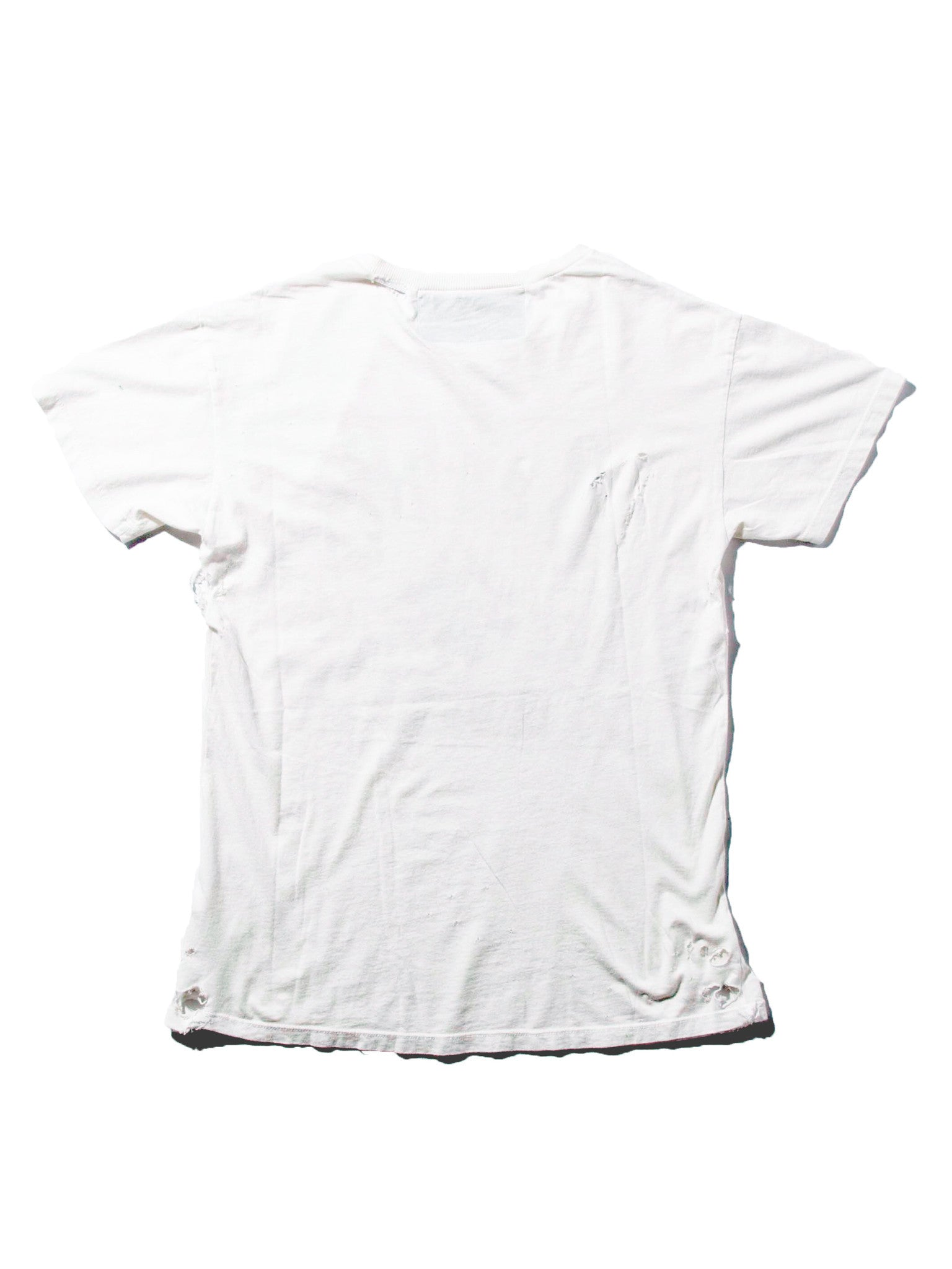 White/Multi Bohemian Elitist Scum T-Shirt 4