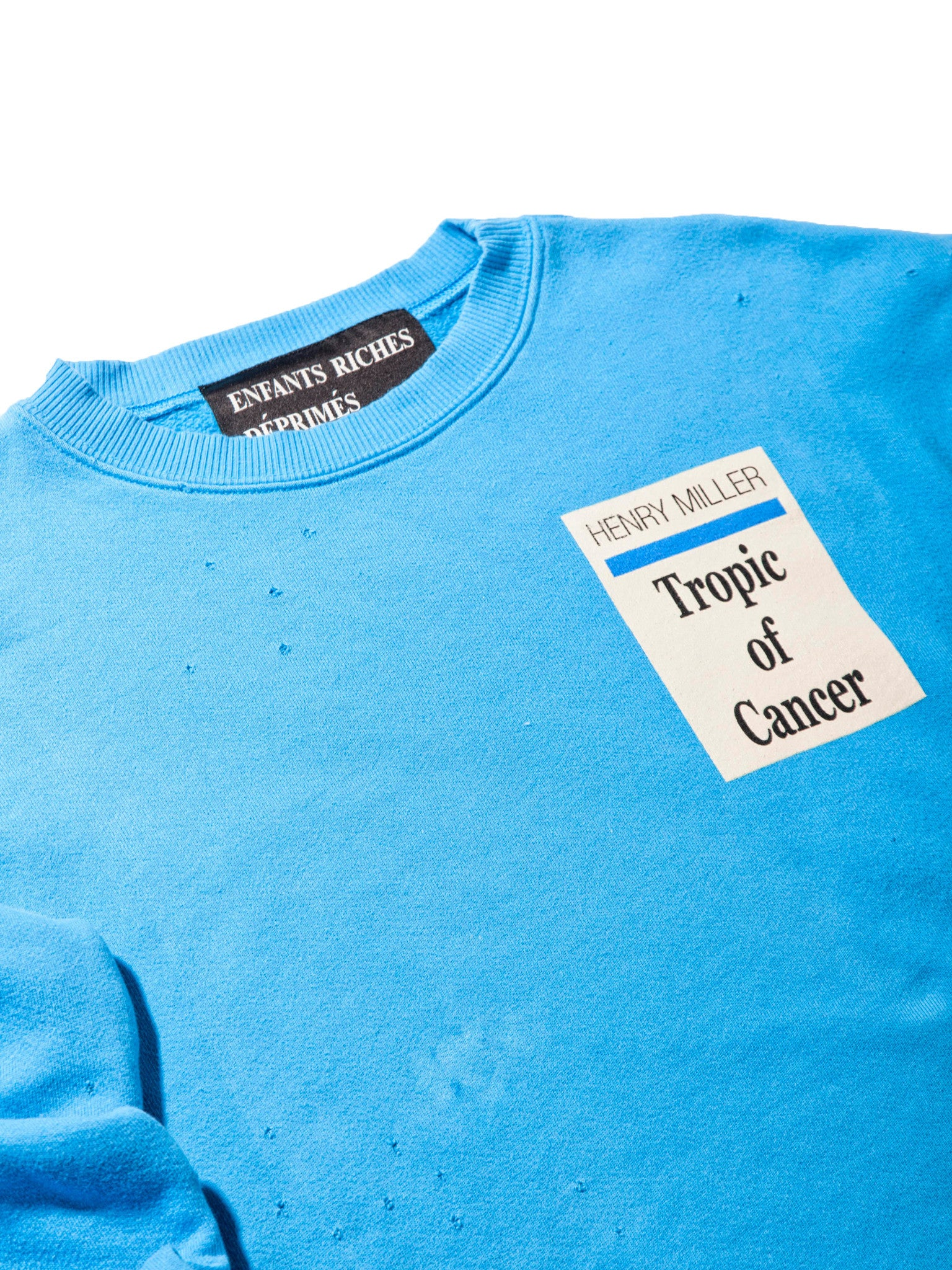 Blue Tropic Of Cancer Crewneck 6