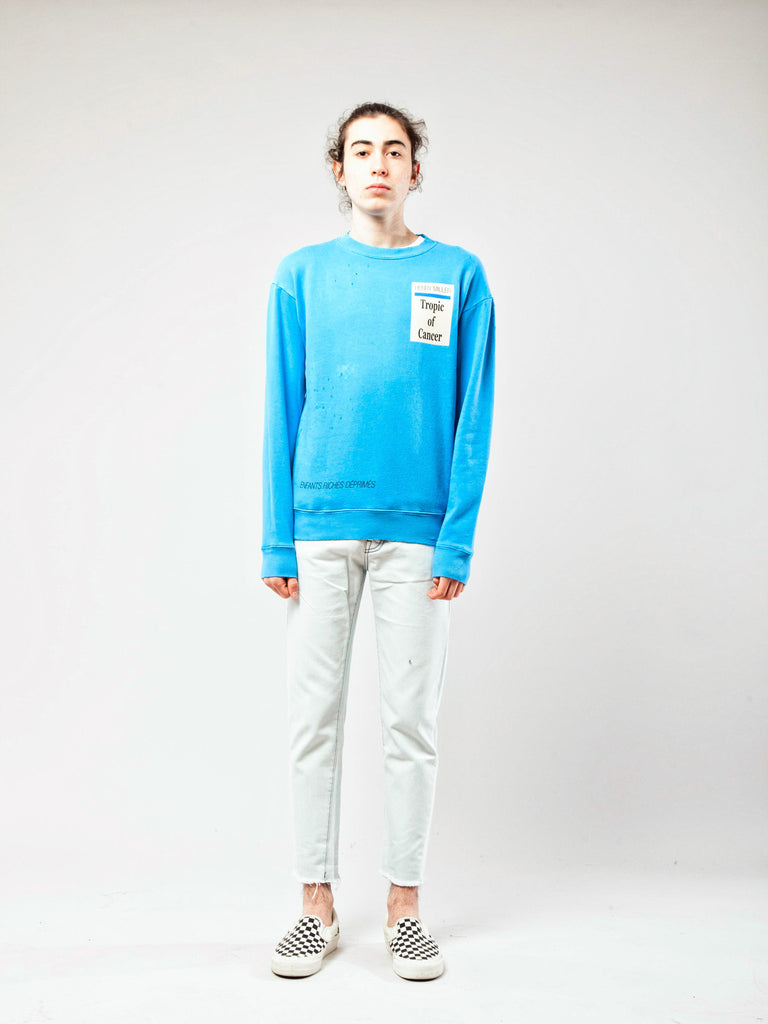 Blue Tropic Of Cancer Crewneck 218262874185
