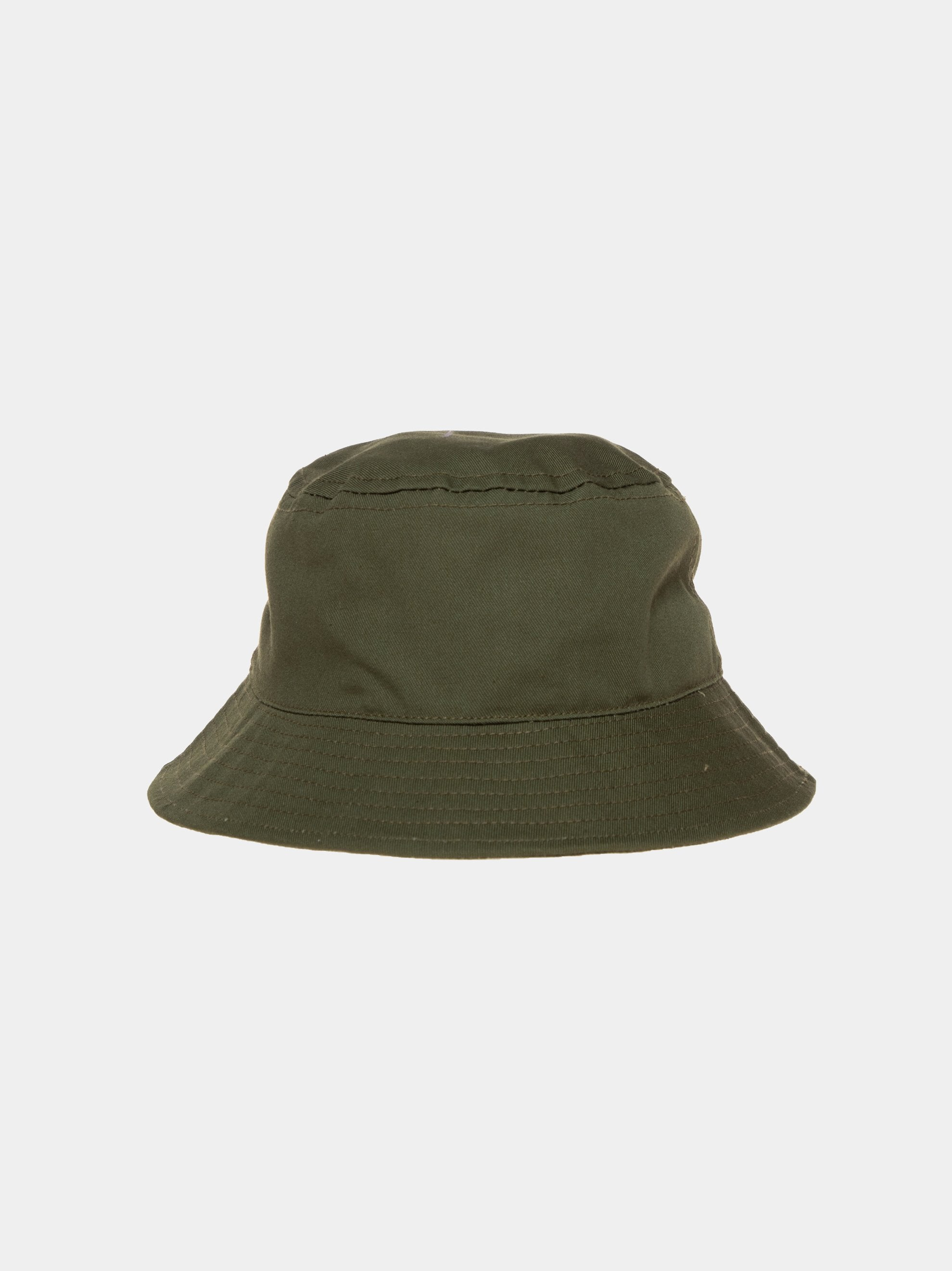 Olive Shining Star Recycled Bucket Hat 2