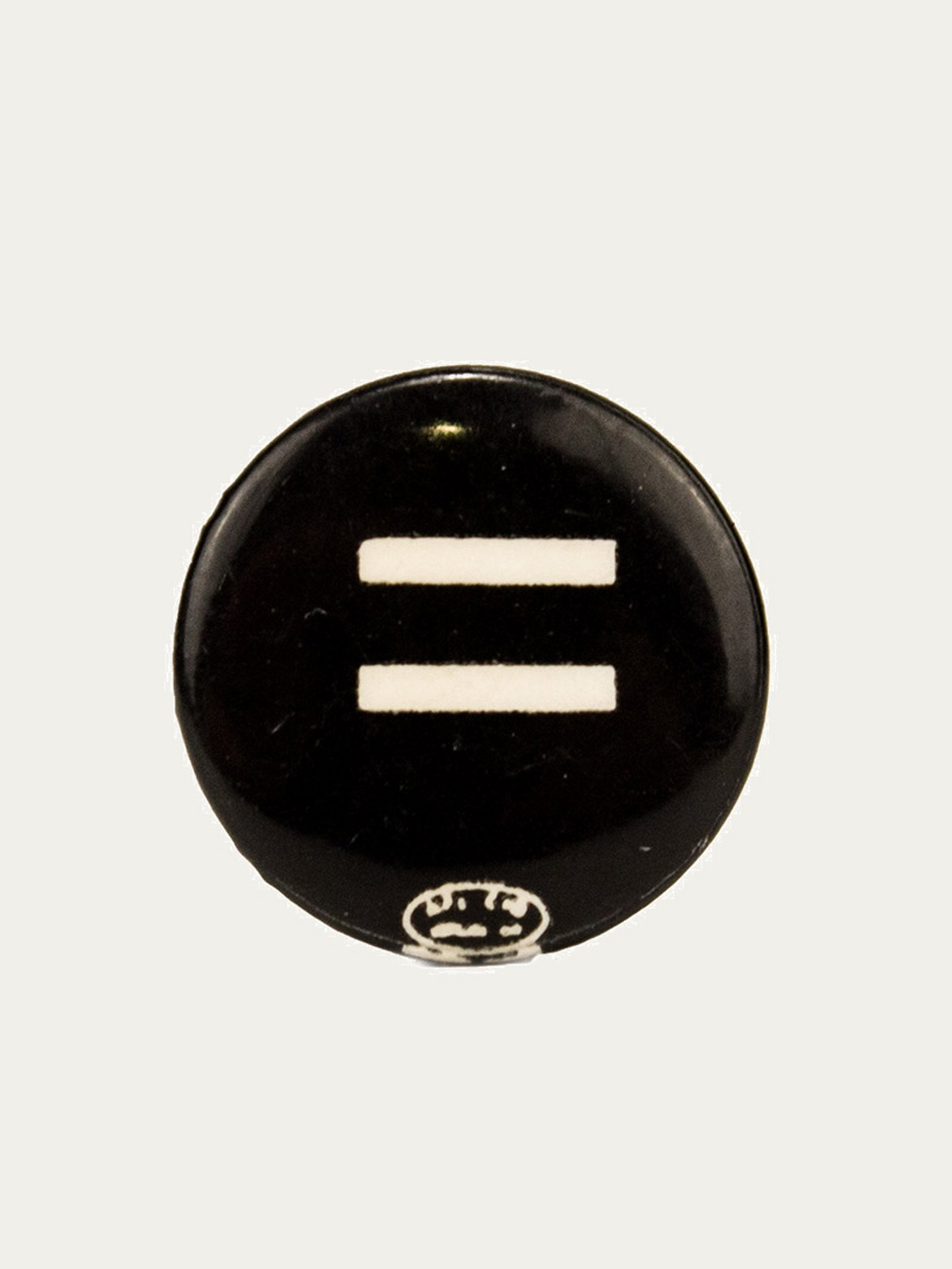 "Black Circa 1964 Equal Rights Protest Pin ""Equal Rights"" 1"