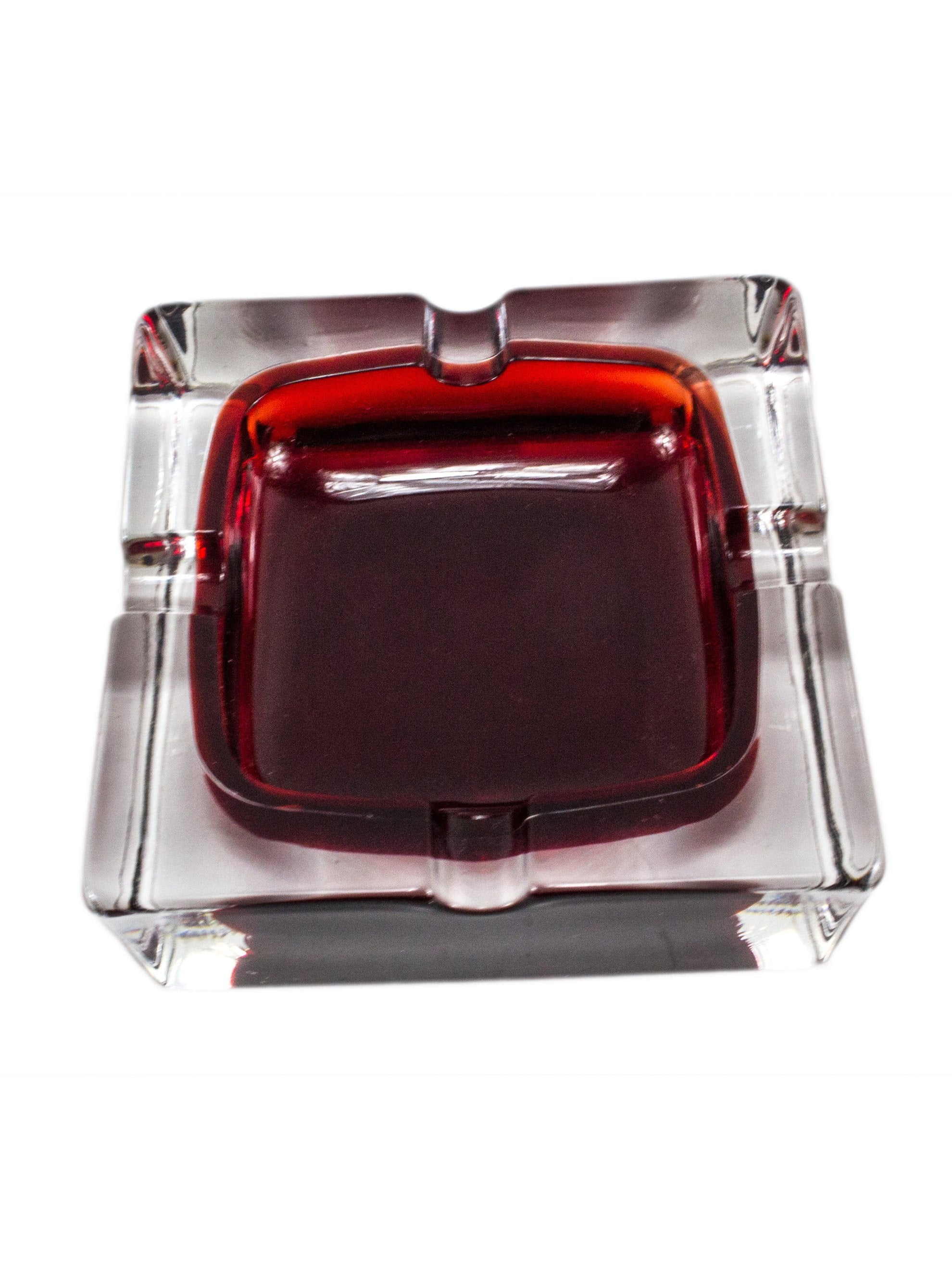 Vintage 1960's Italian Glass Ashtray