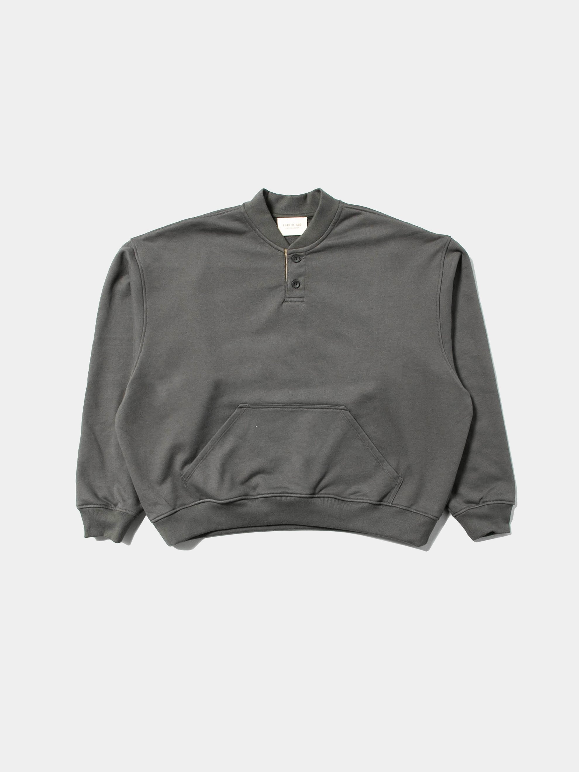 Seaweed Everyday Henley Sweatshirt 1