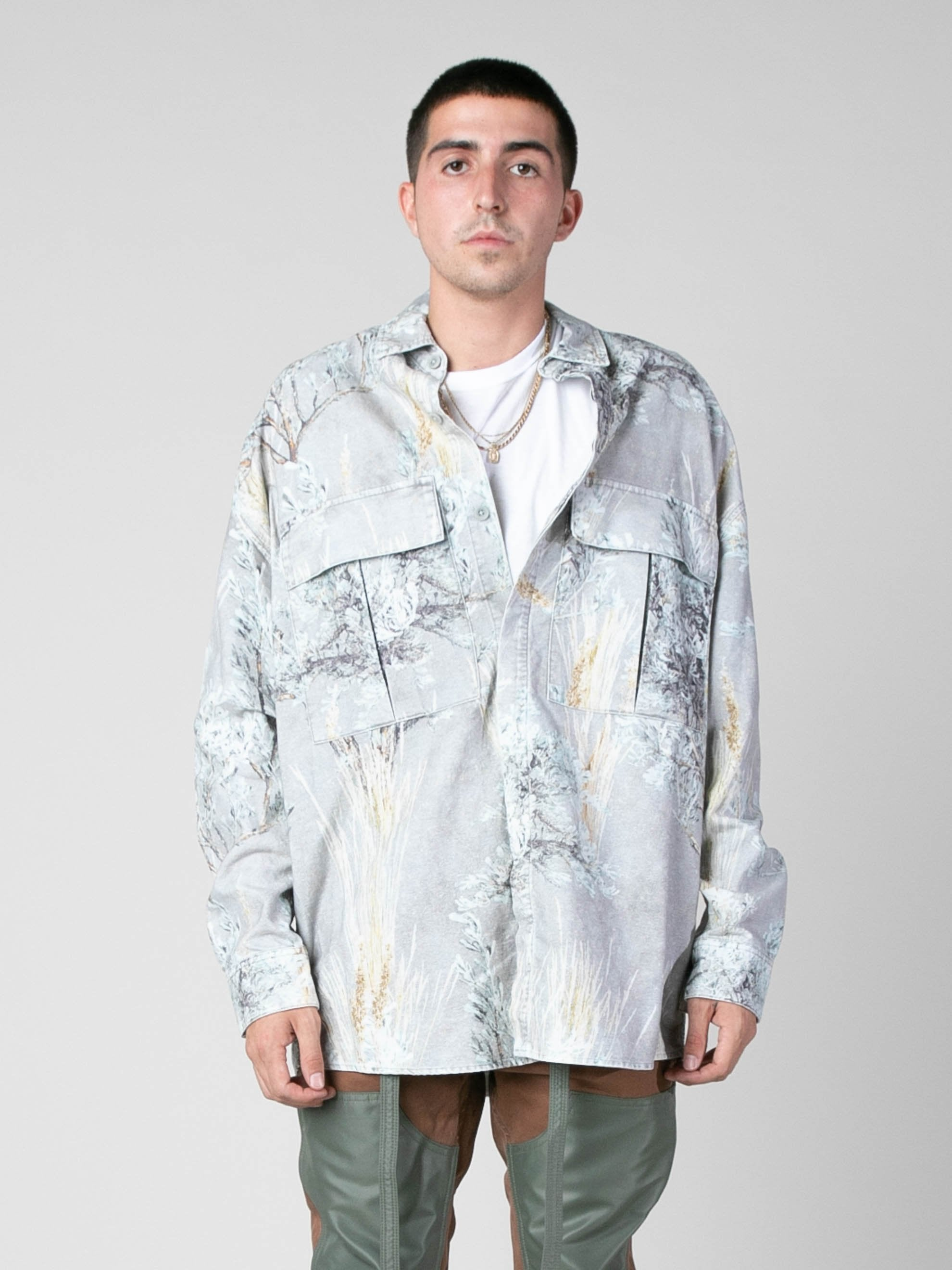Prairie Ghost Camo Prairie Ghost Camo L/S Button Up 2