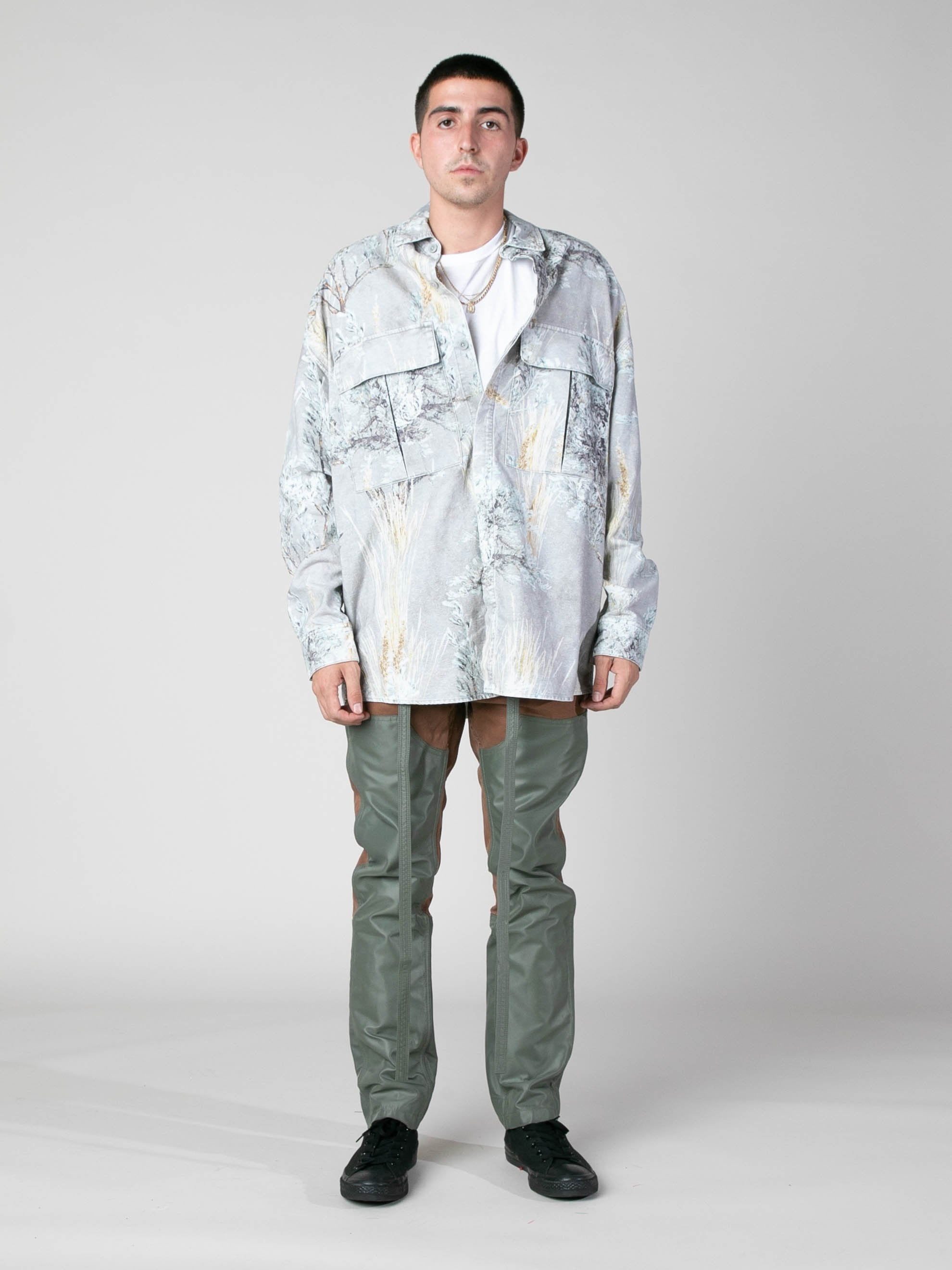 Prairie Ghost Camo Prairie Ghost Camo L/S Button Up 3