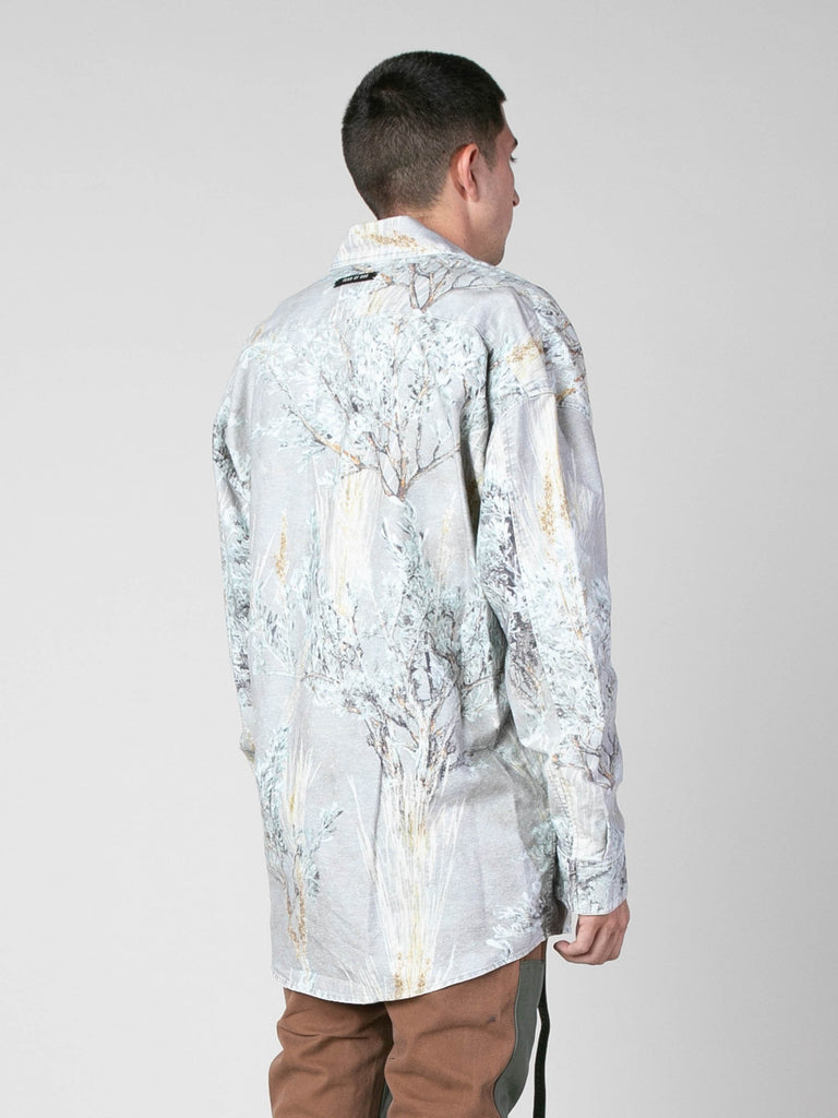 Prairie Ghost Camo Prairie Ghost Camo L/S Button Up 613570376663117