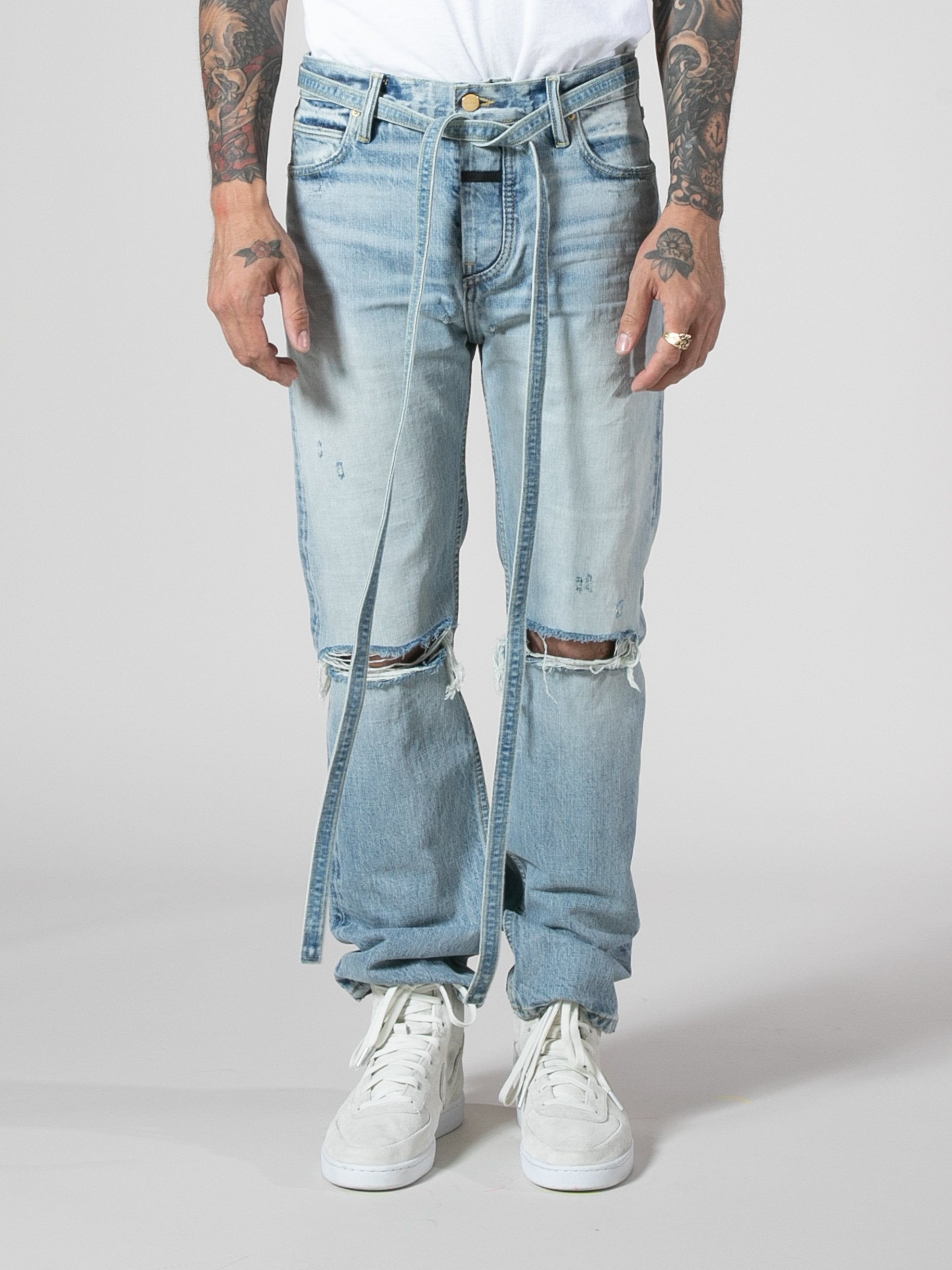 Relaxed Denim Jean