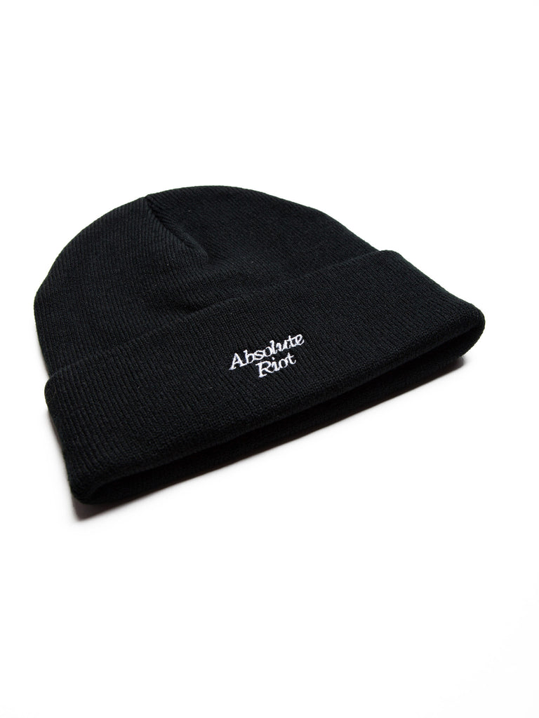 Absolute Riot Embroidered Beanie