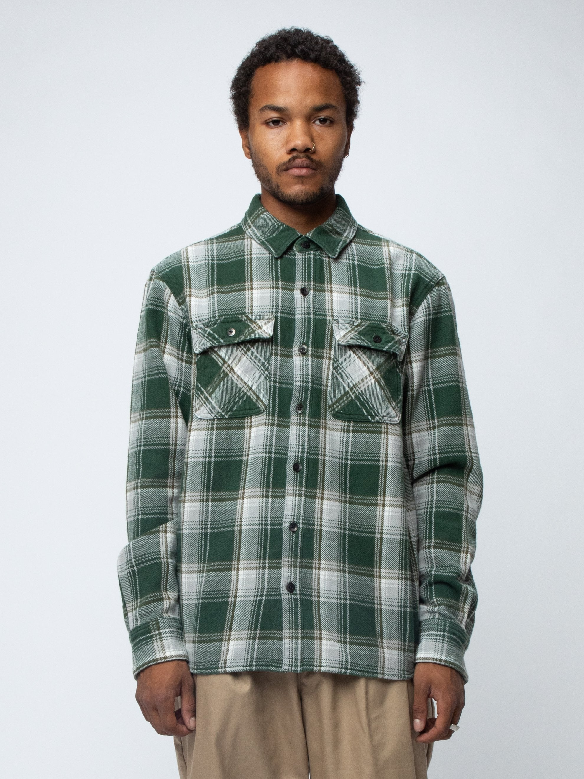 Green CABELLA / C-SHIRT . LS 3