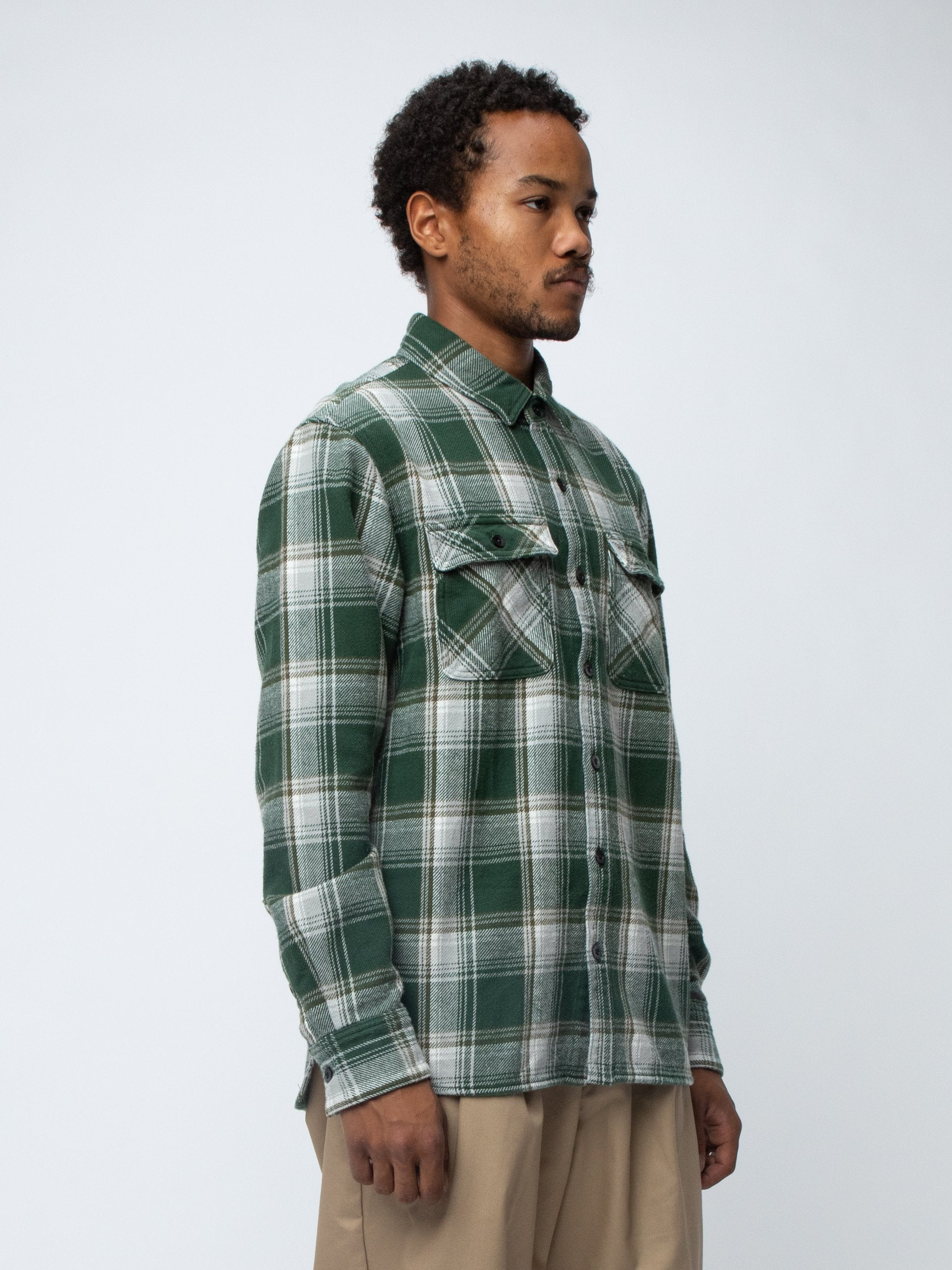 Green CABELLA / C-SHIRT . LS 4