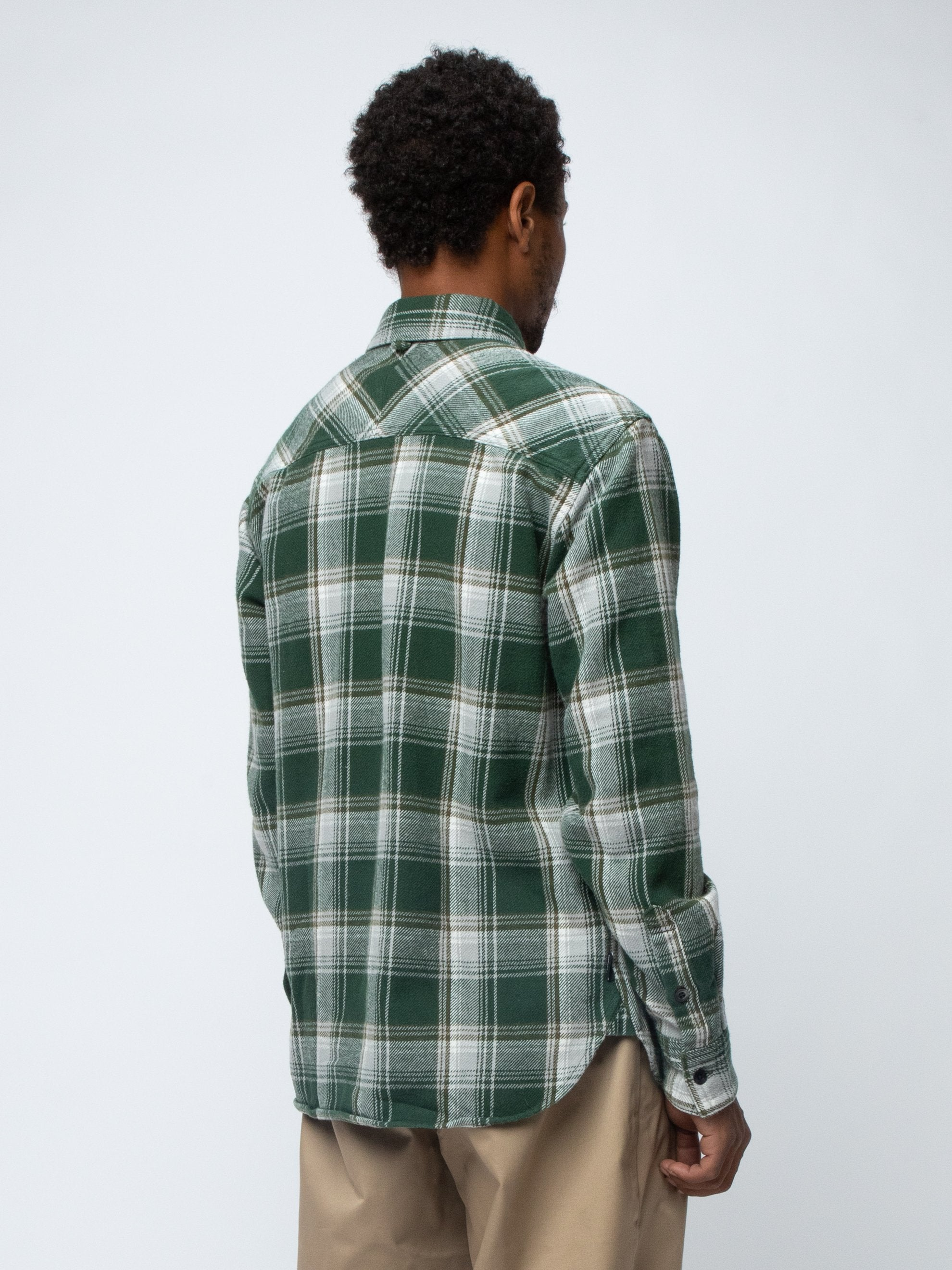 Green CABELLA / C-SHIRT . LS 5