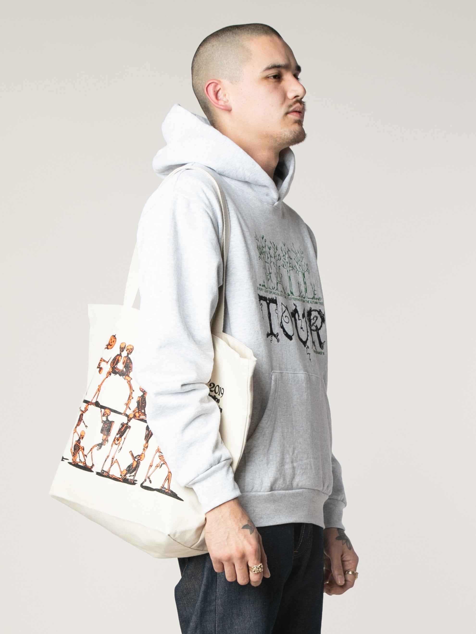 Fall Tour Skeleton Tote