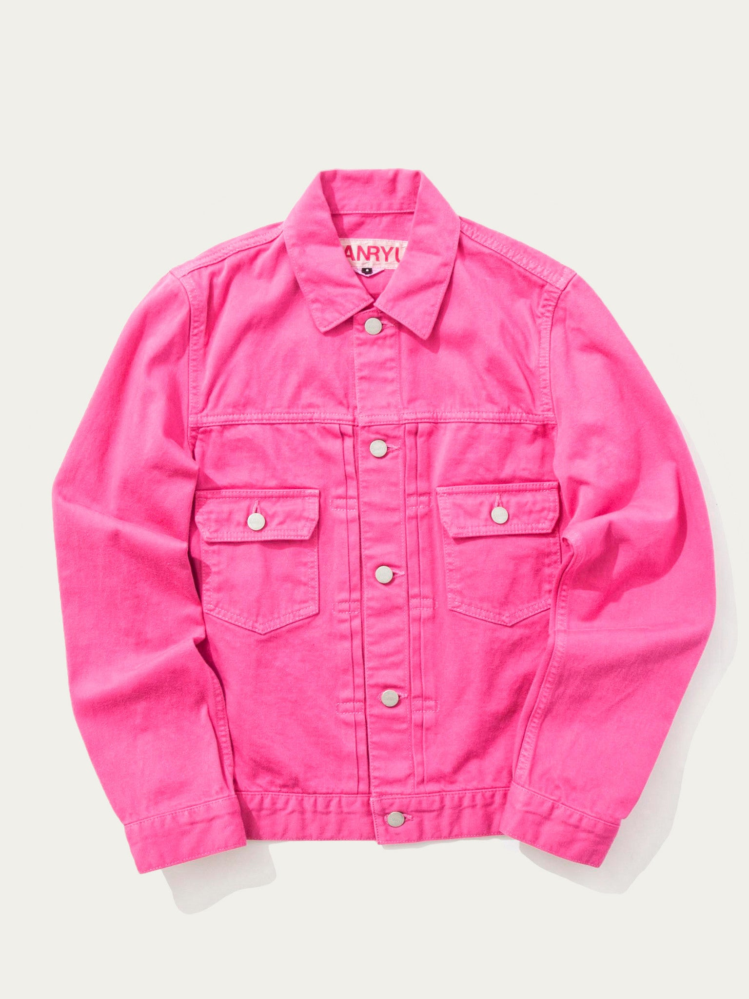 Pink Denim Jacket 1