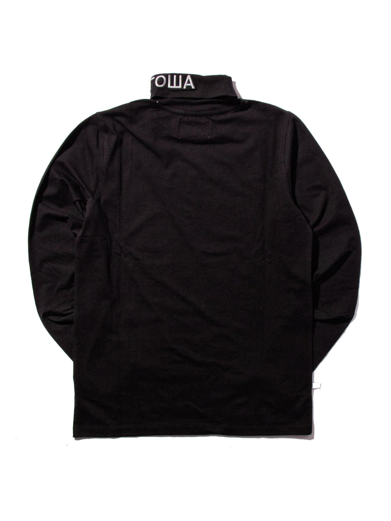 Red FIla Roll Neck T-Shirt 1118263815753