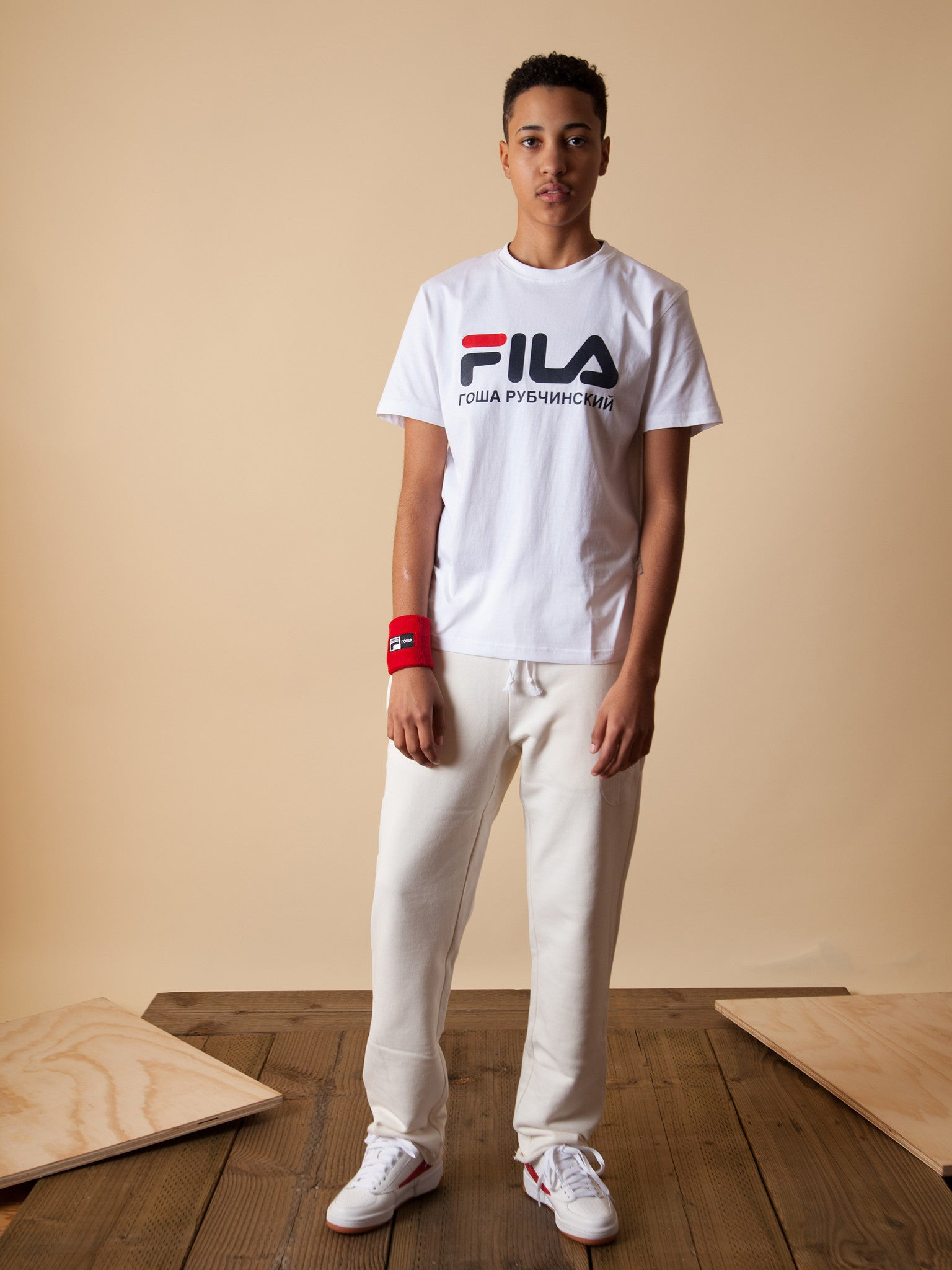 Red Fila T-Shirt 2