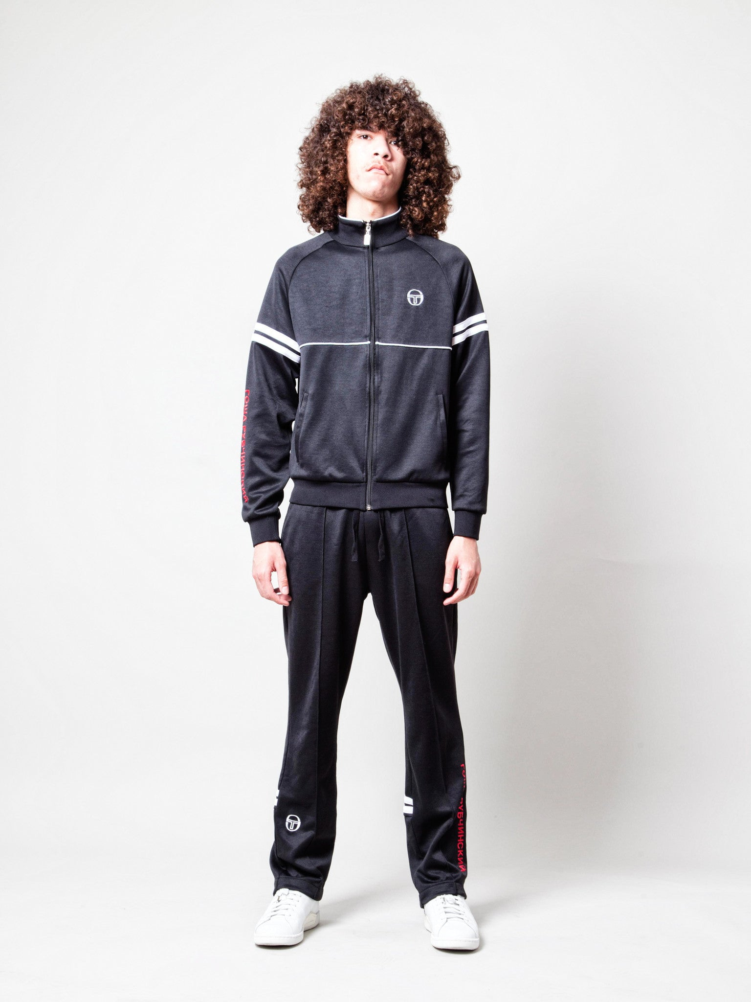 Black Sergio Tacchini Orion Jacket 2