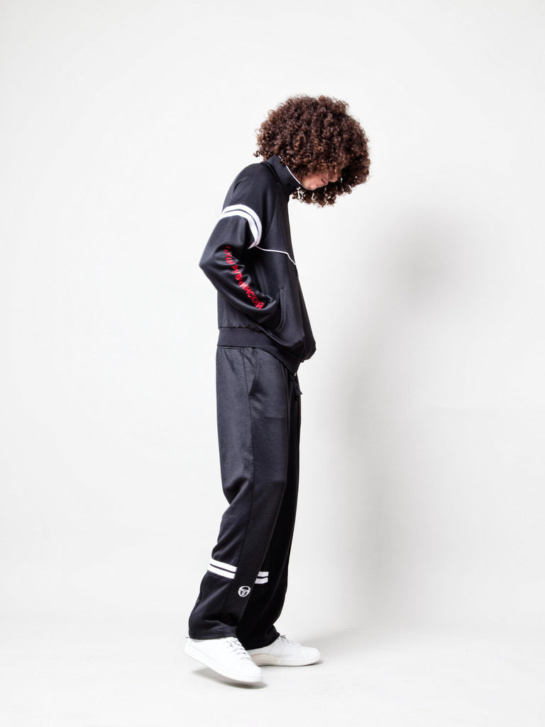 Black Sergio Tacchini Orion Jacket 3