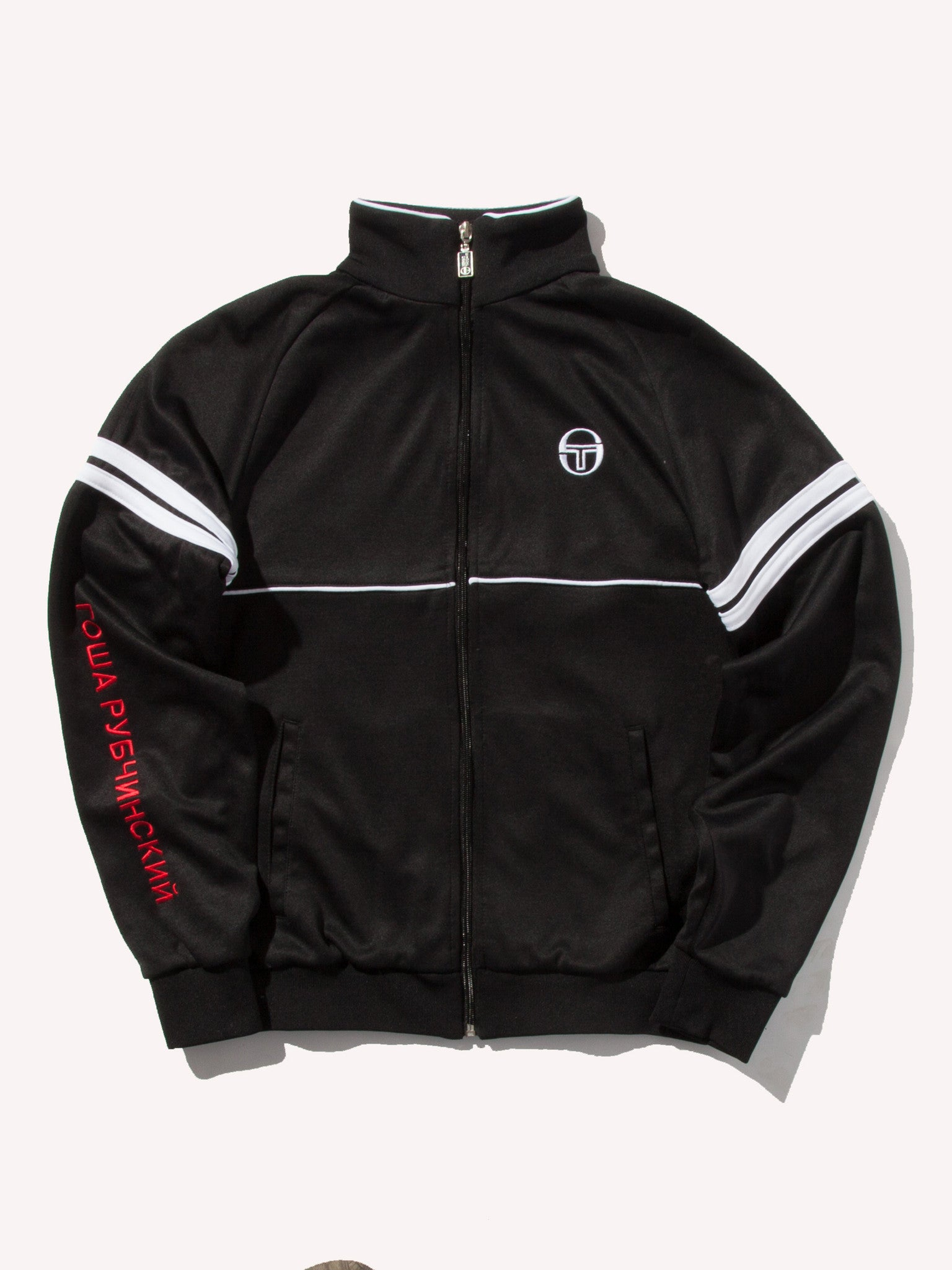 Black Sergio Tacchini Orion Jacket 1