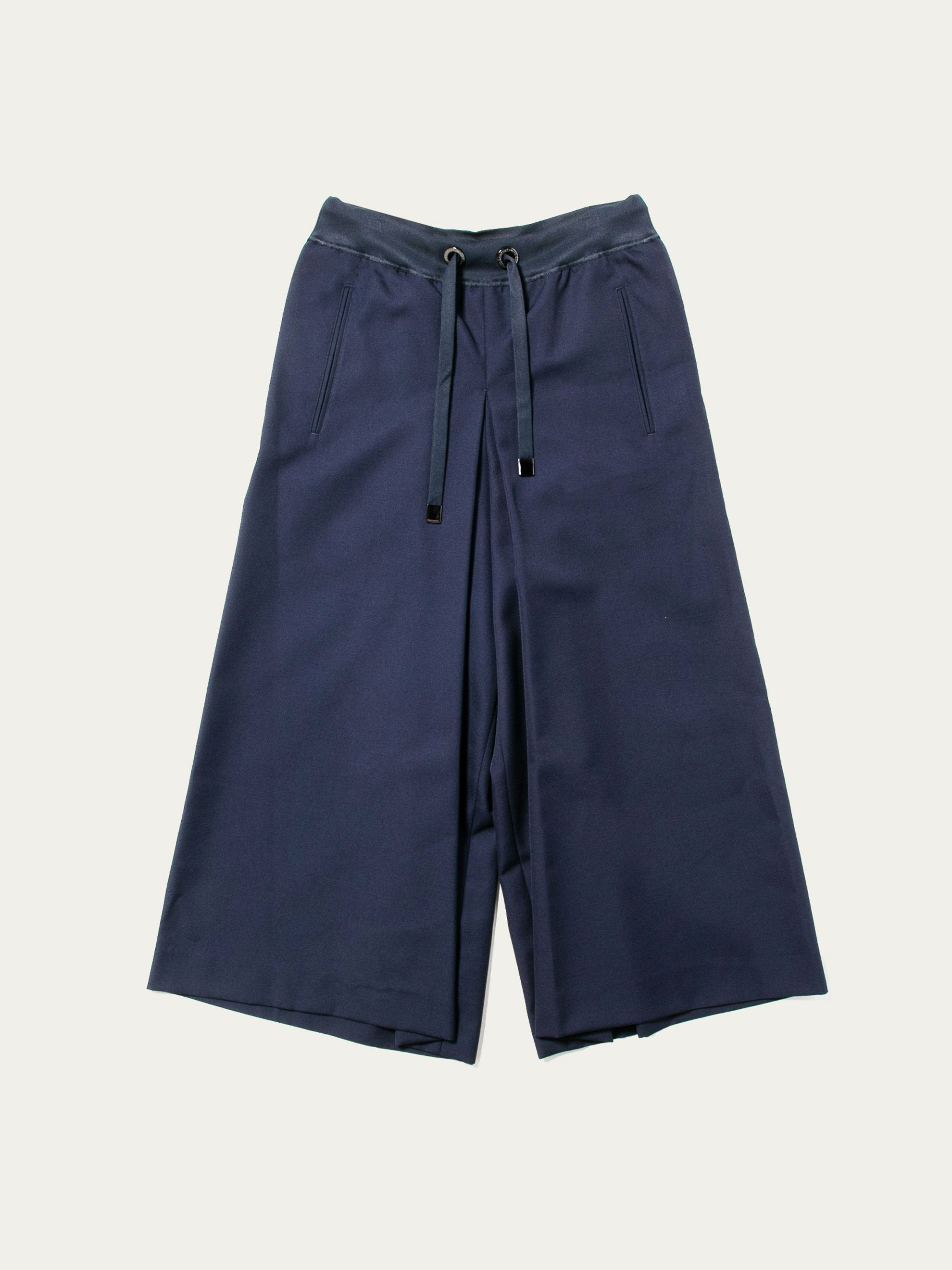 Navy Woven Judo Trousers 1