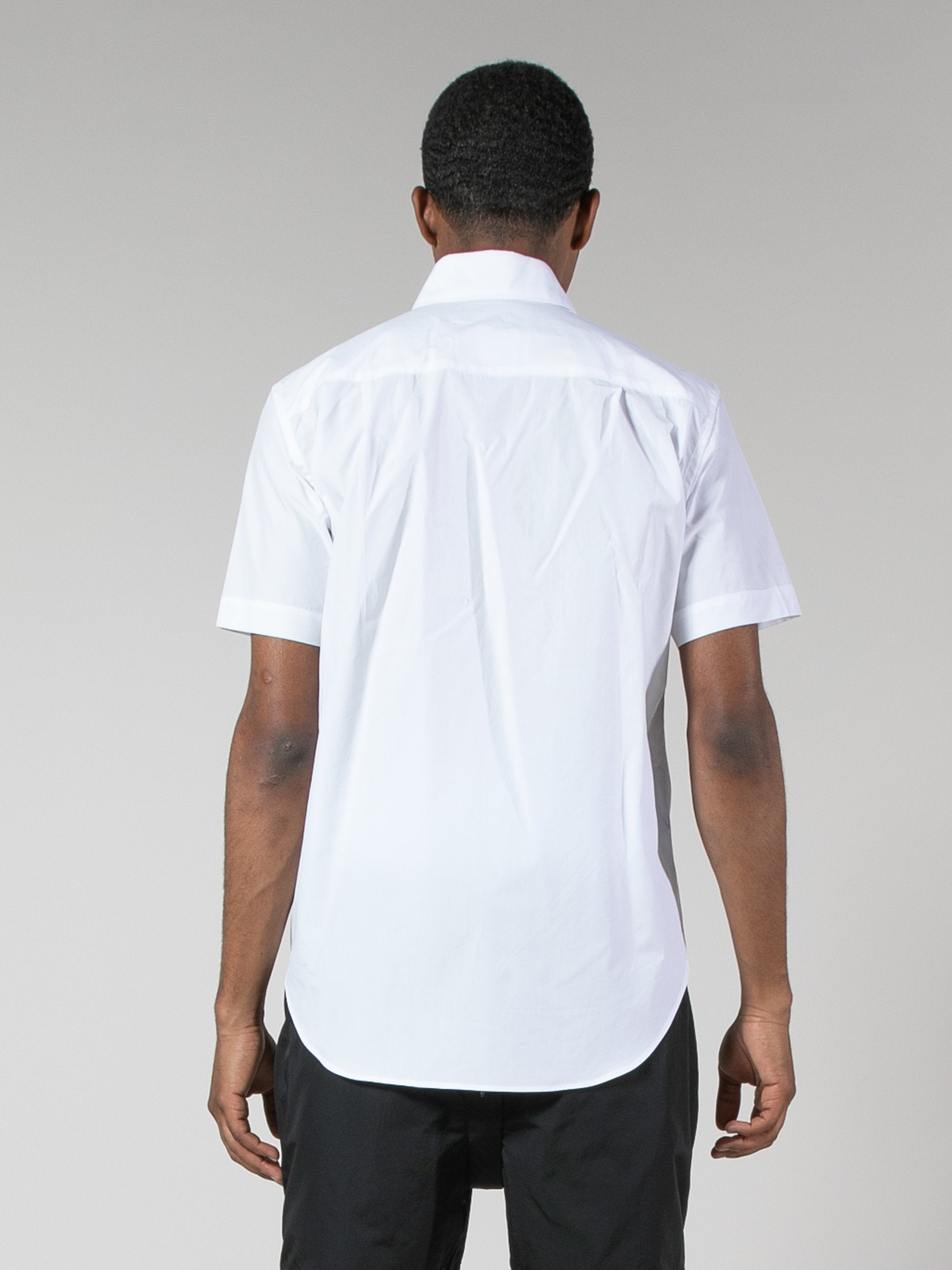 White/Red Water Resistant Pocket Shirt 6