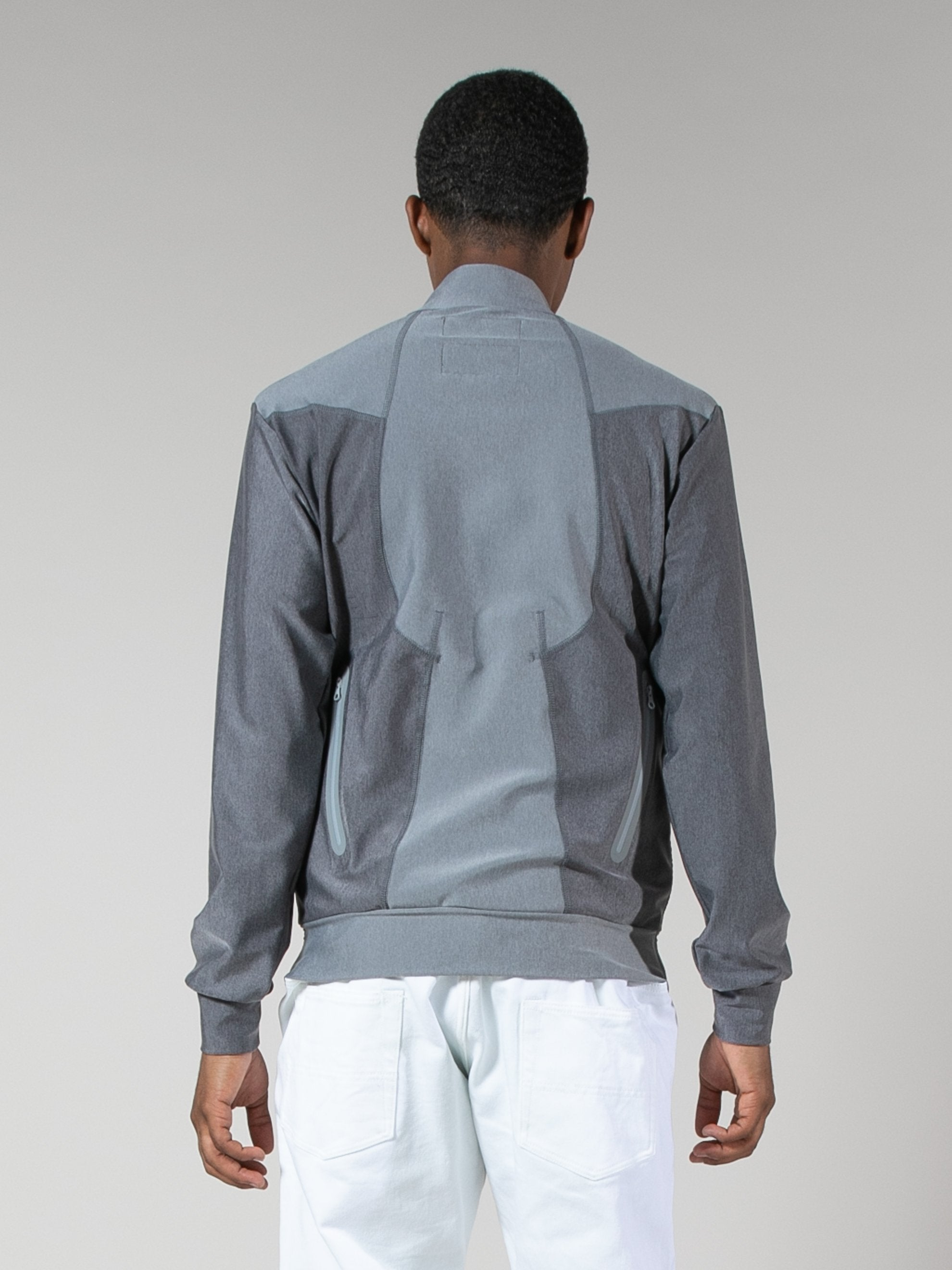 Charcoal Grey Quick-Dry Zip Sweater 6