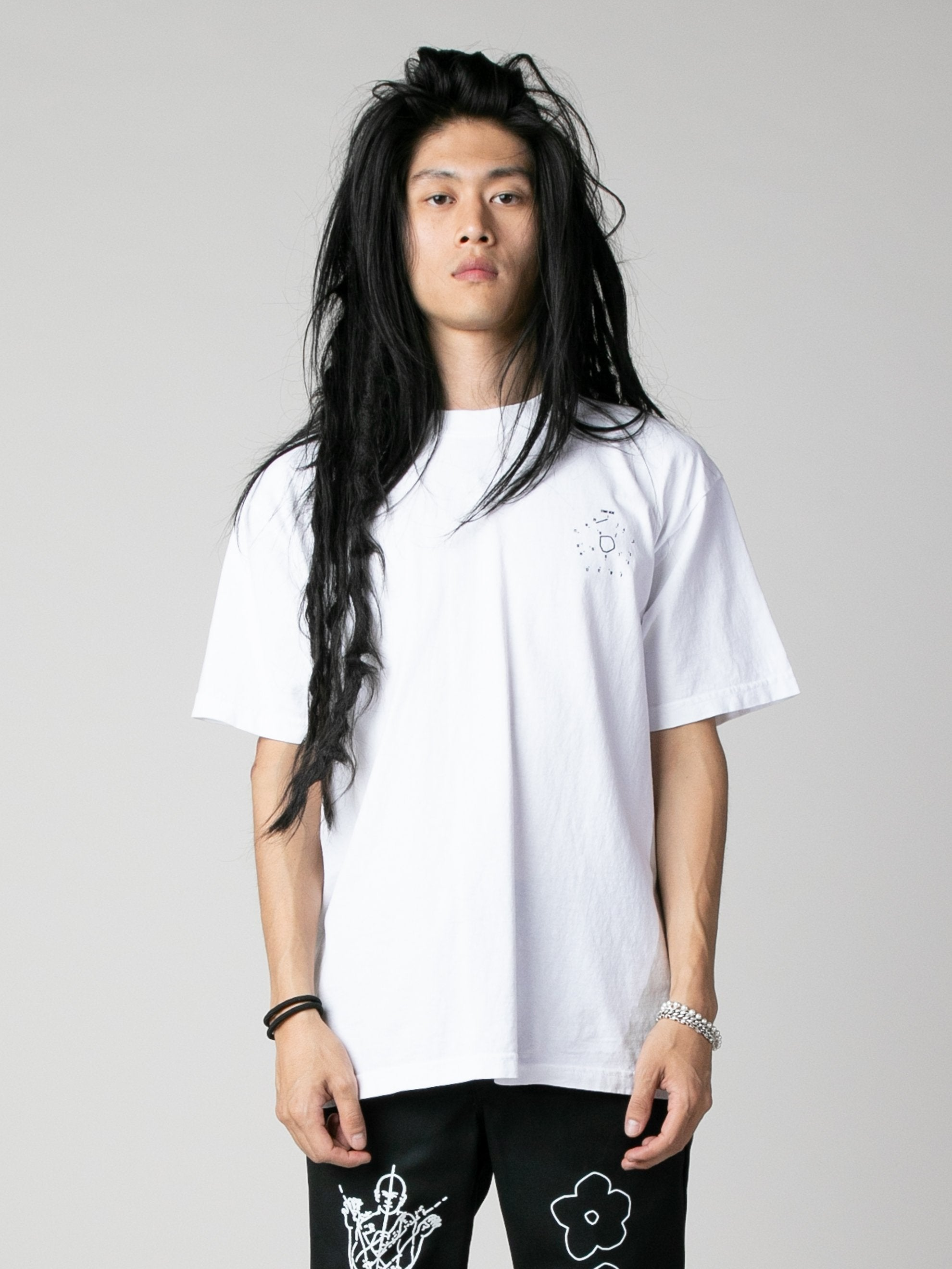 White Start Here T-Shirt 2